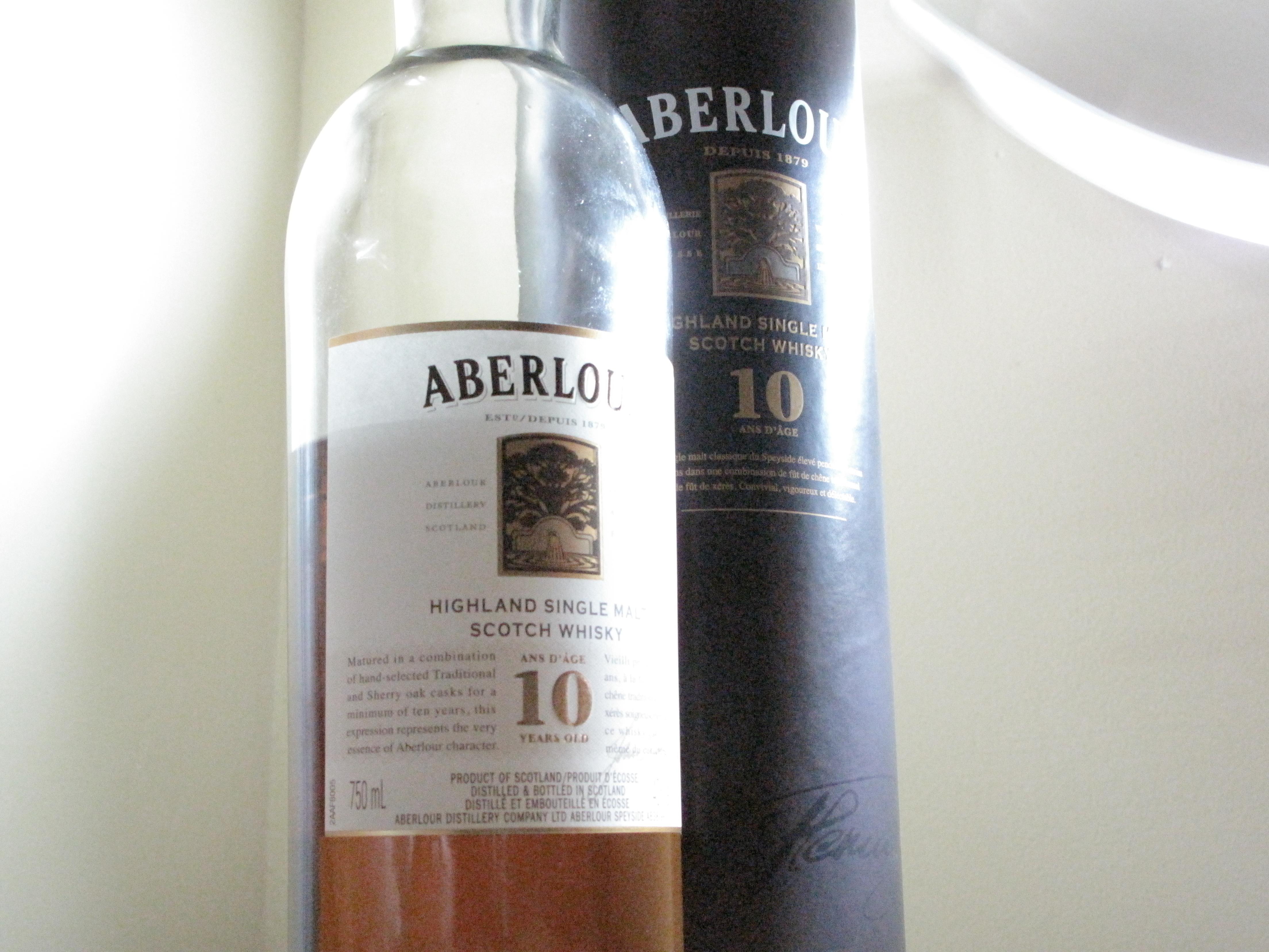 Aberlour 10y with Katherine & The Dan