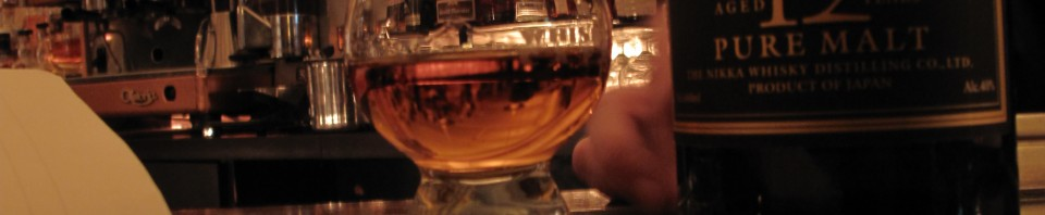 Nikka Taketsuru 12y Pure Malt with Katherine at the Whisky Cafe