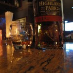 Highland Park 18y with The Girl at L'ile Noire
