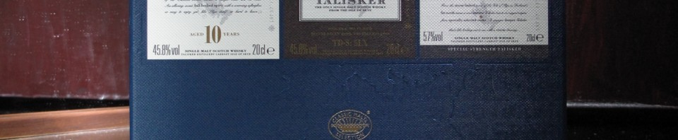 Talisker Scotch Whisky Collection