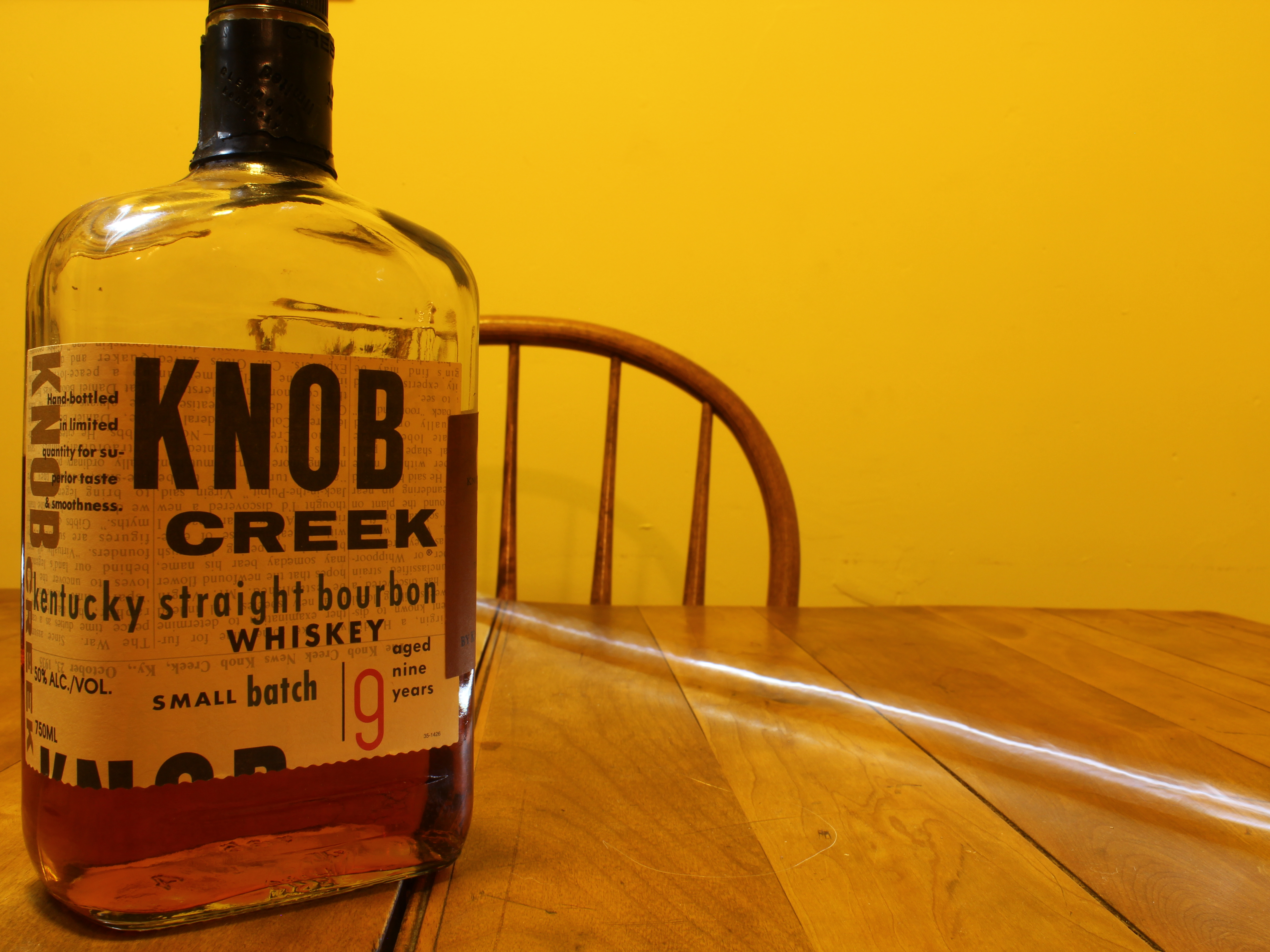 Knob Creek 9y Kentucky Straight Bourbon Whiskey with The Dan