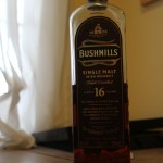 Bushmills 16y with The Dan