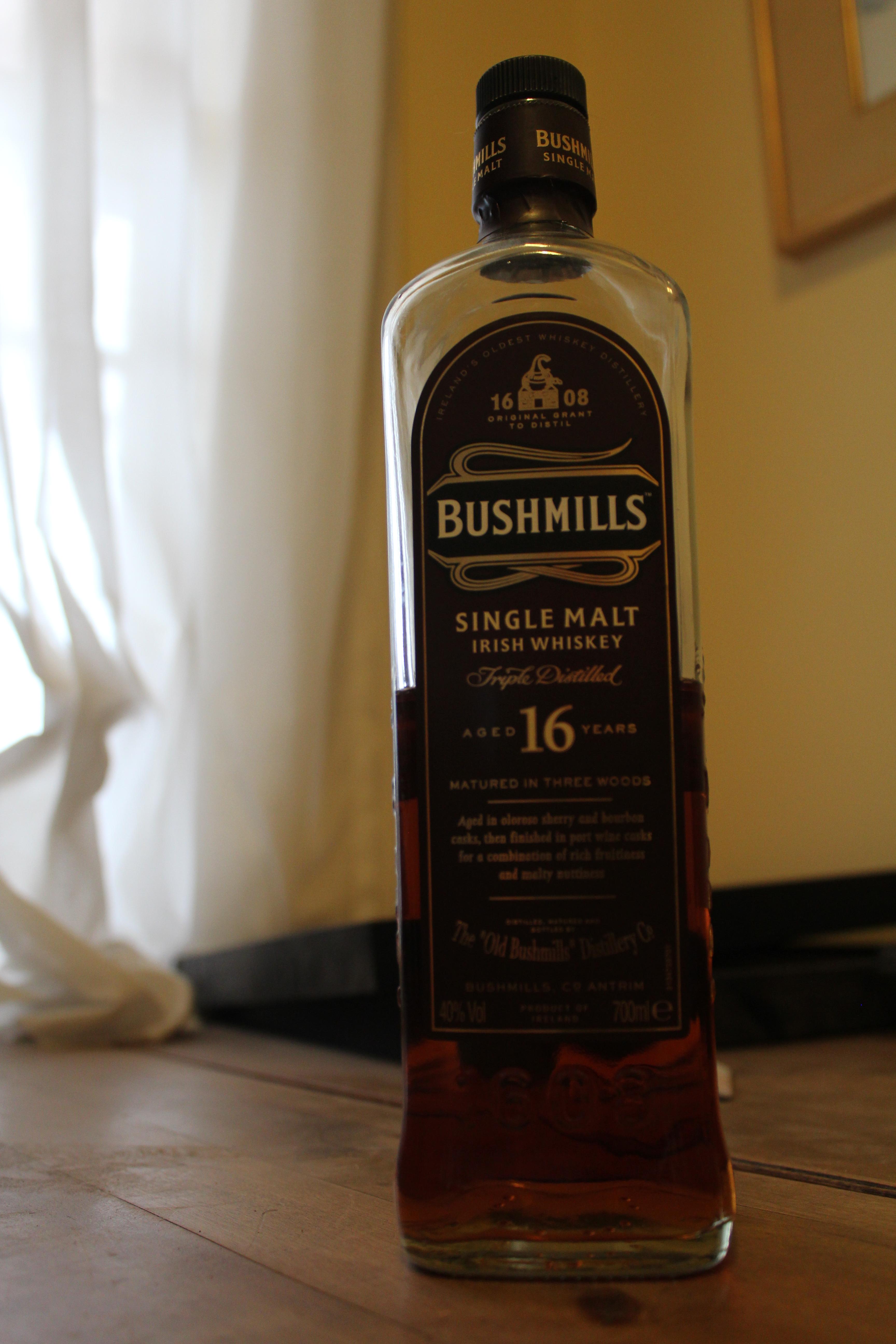 Bushmills 16y with The Dan