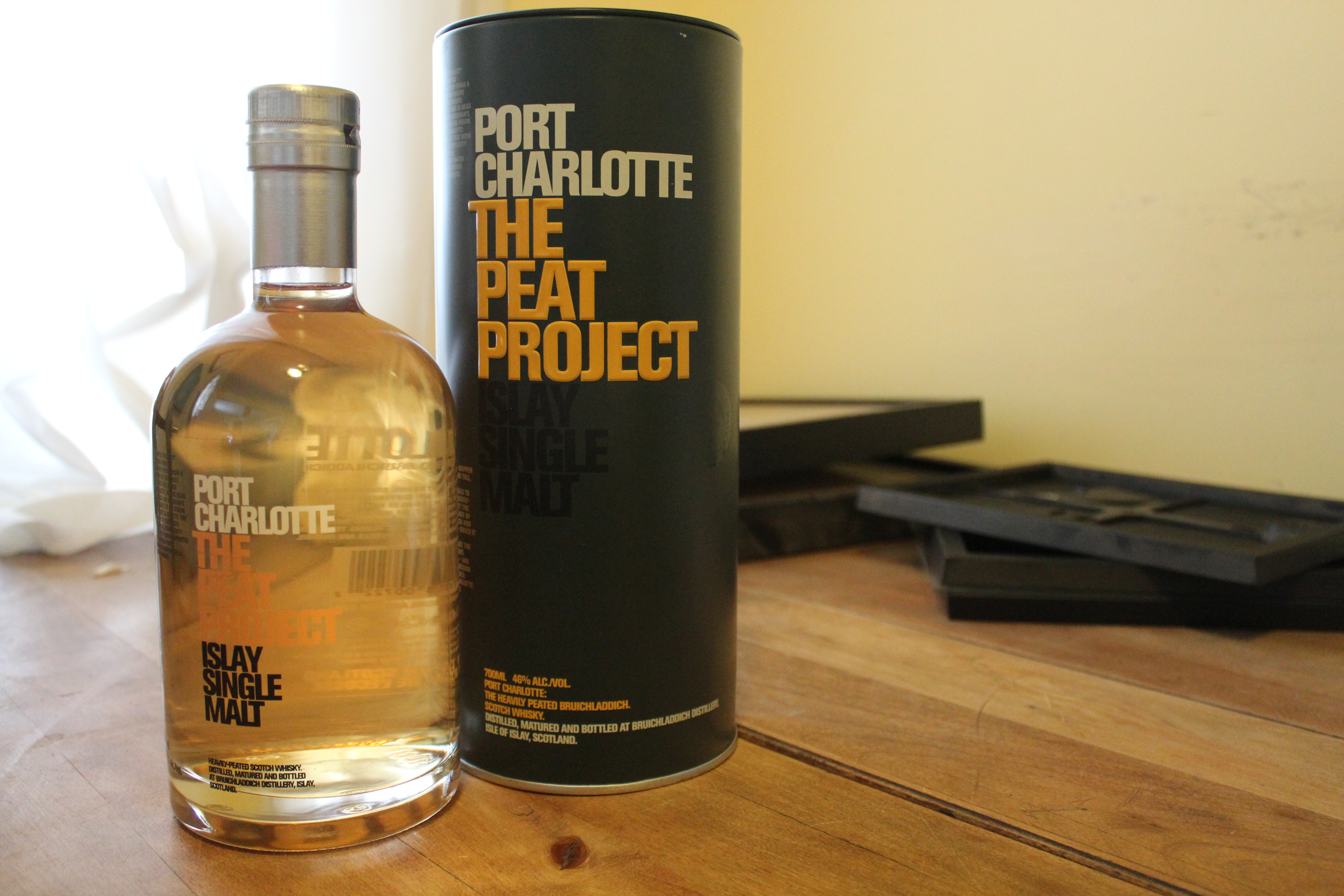 Bruichladdich Port Charlotte Peat Project with The Dan