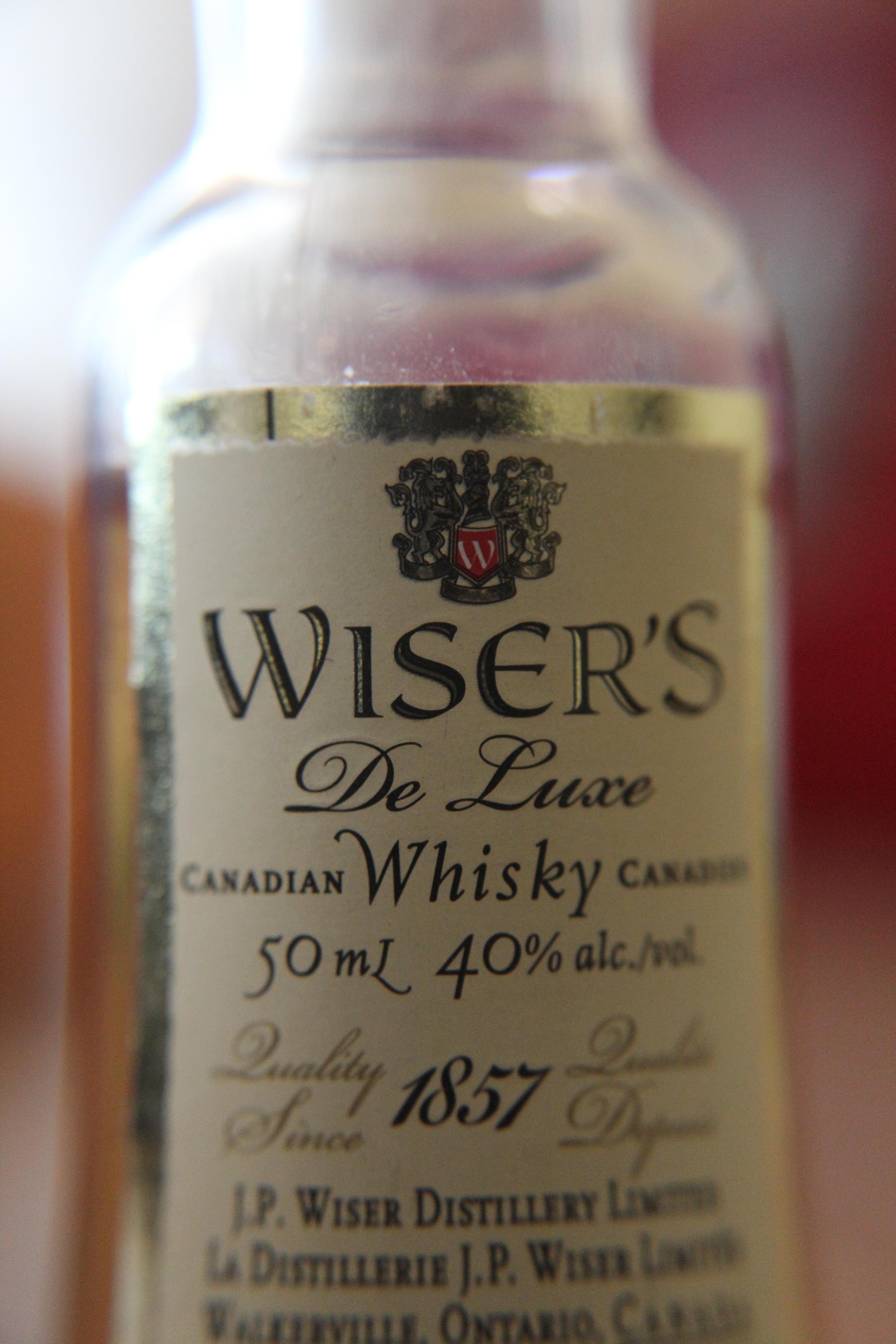 Wiser's De Luxe with Dan