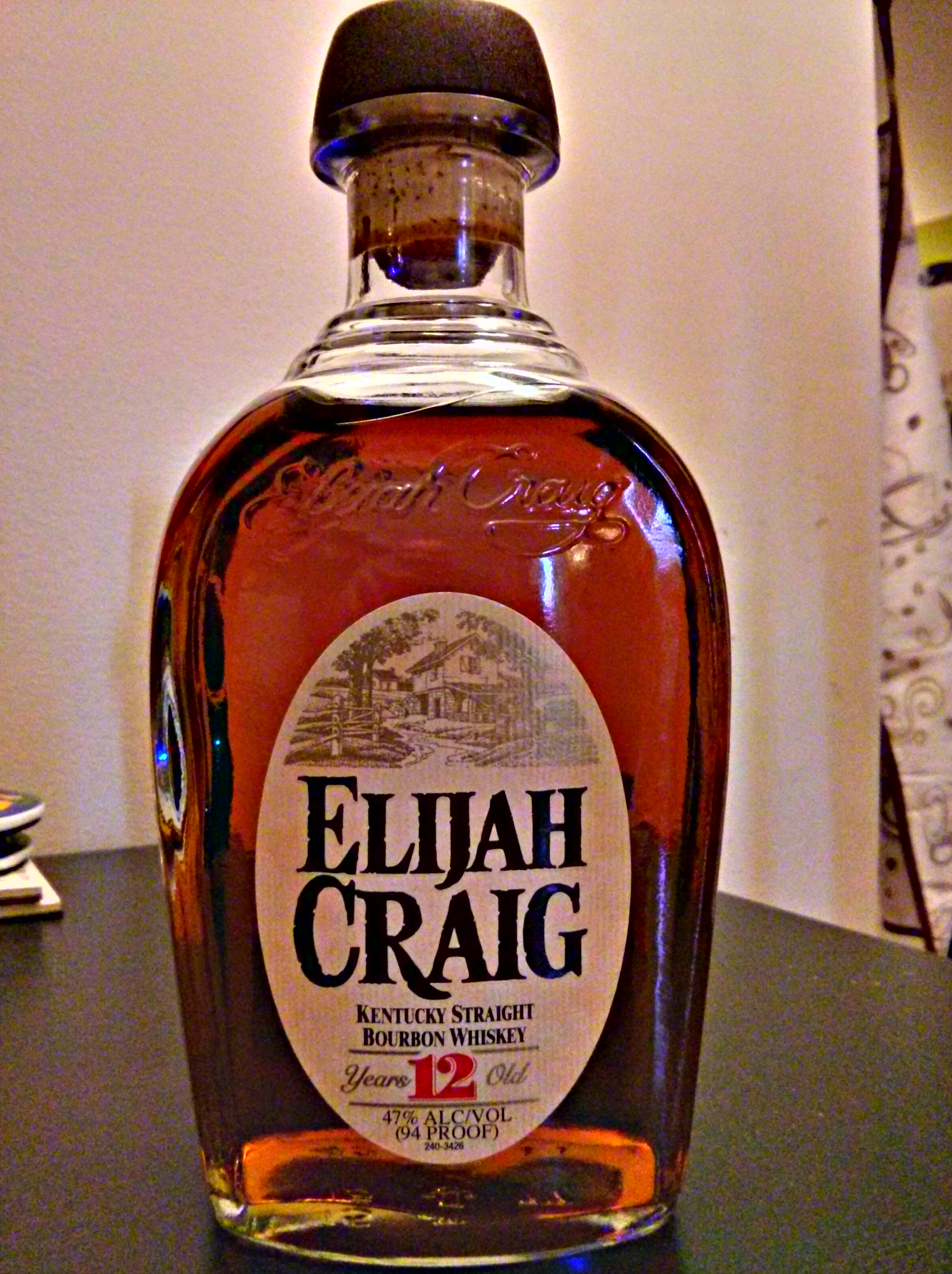 Elijah Craig 12y Kentucky Straight Bourbon Whiskey with Dan & Alex