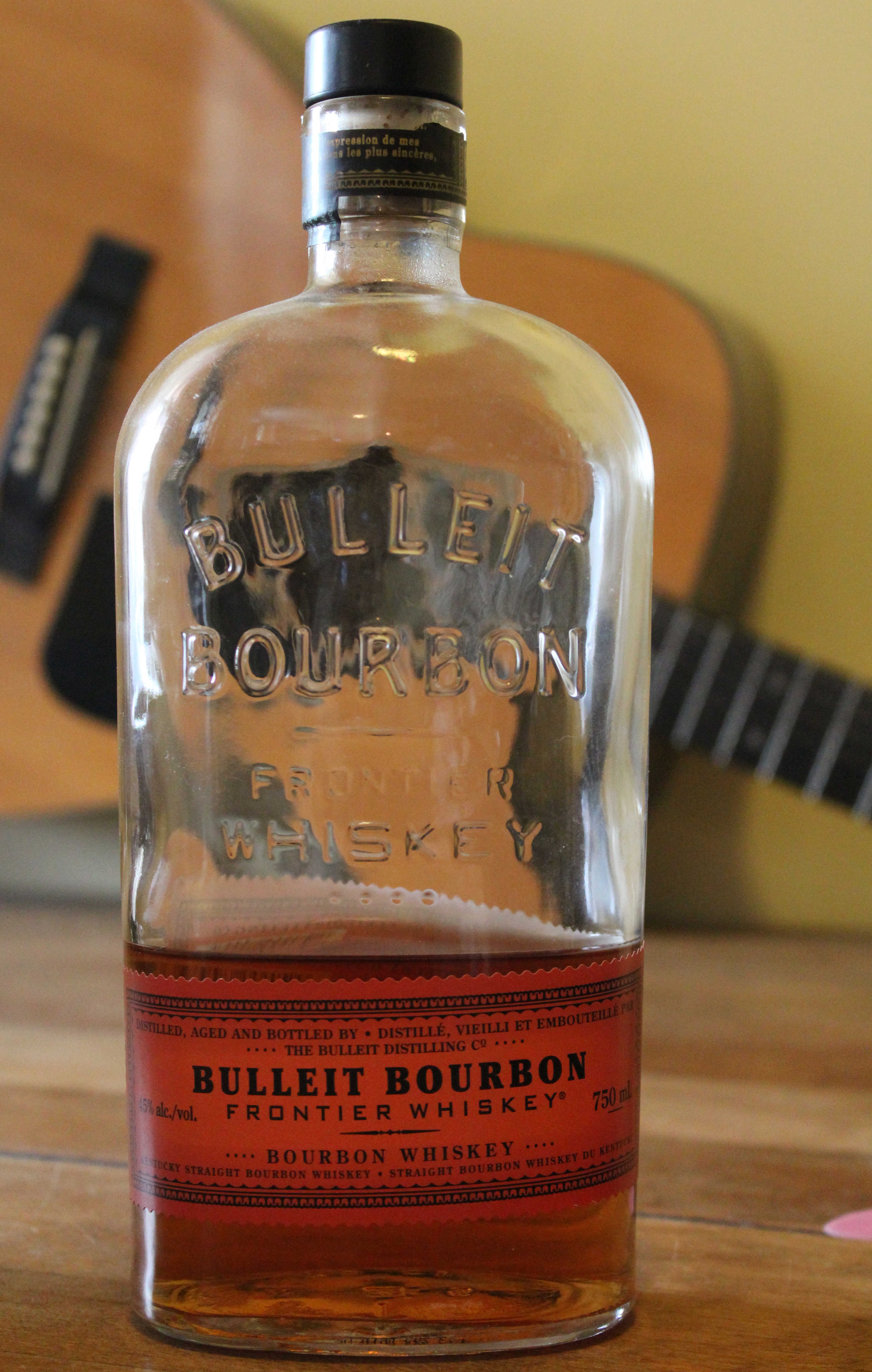 Bulleit Bourbon Frontier Whiskey with Dan