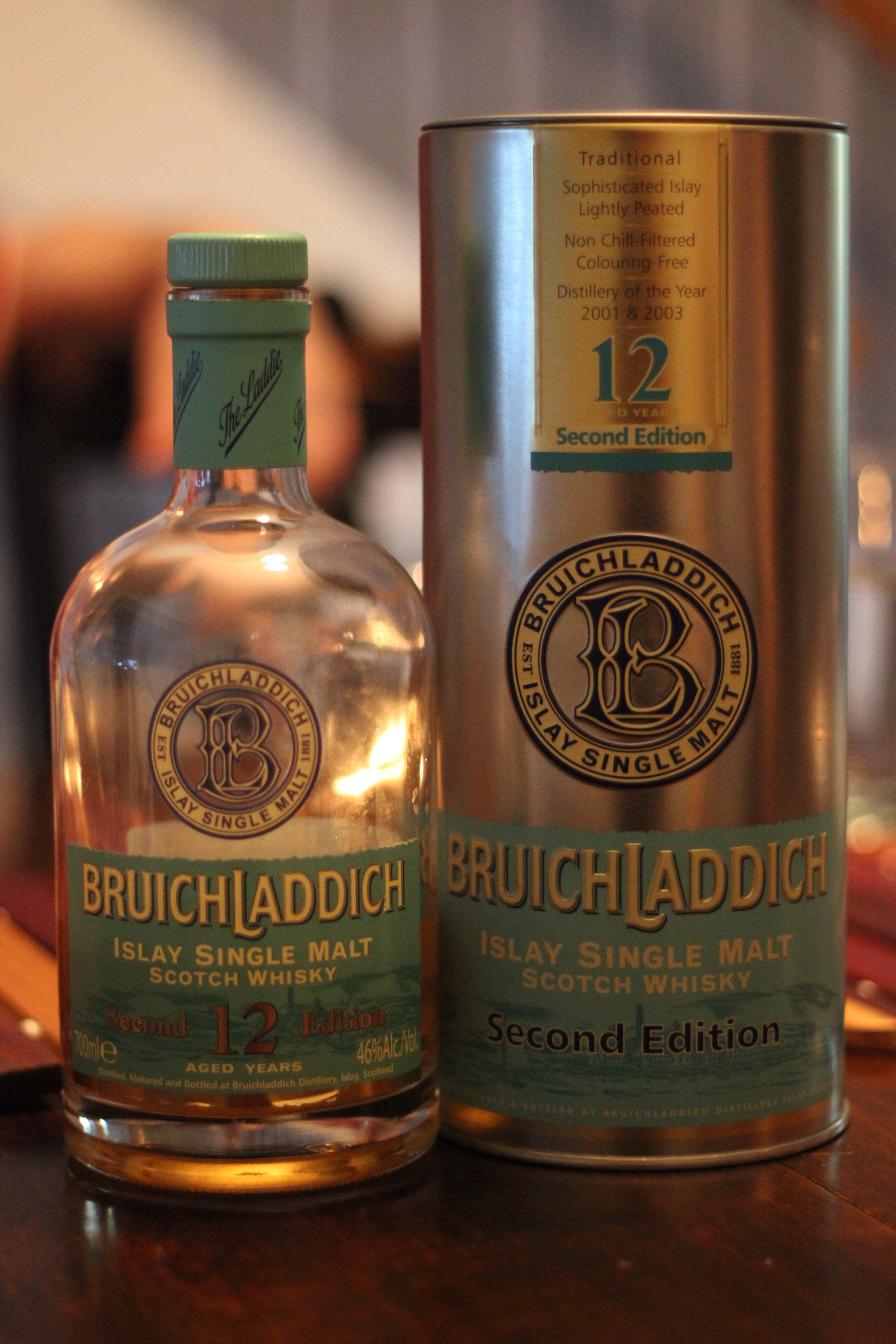 Bruichladdich 12y 2nd Edition