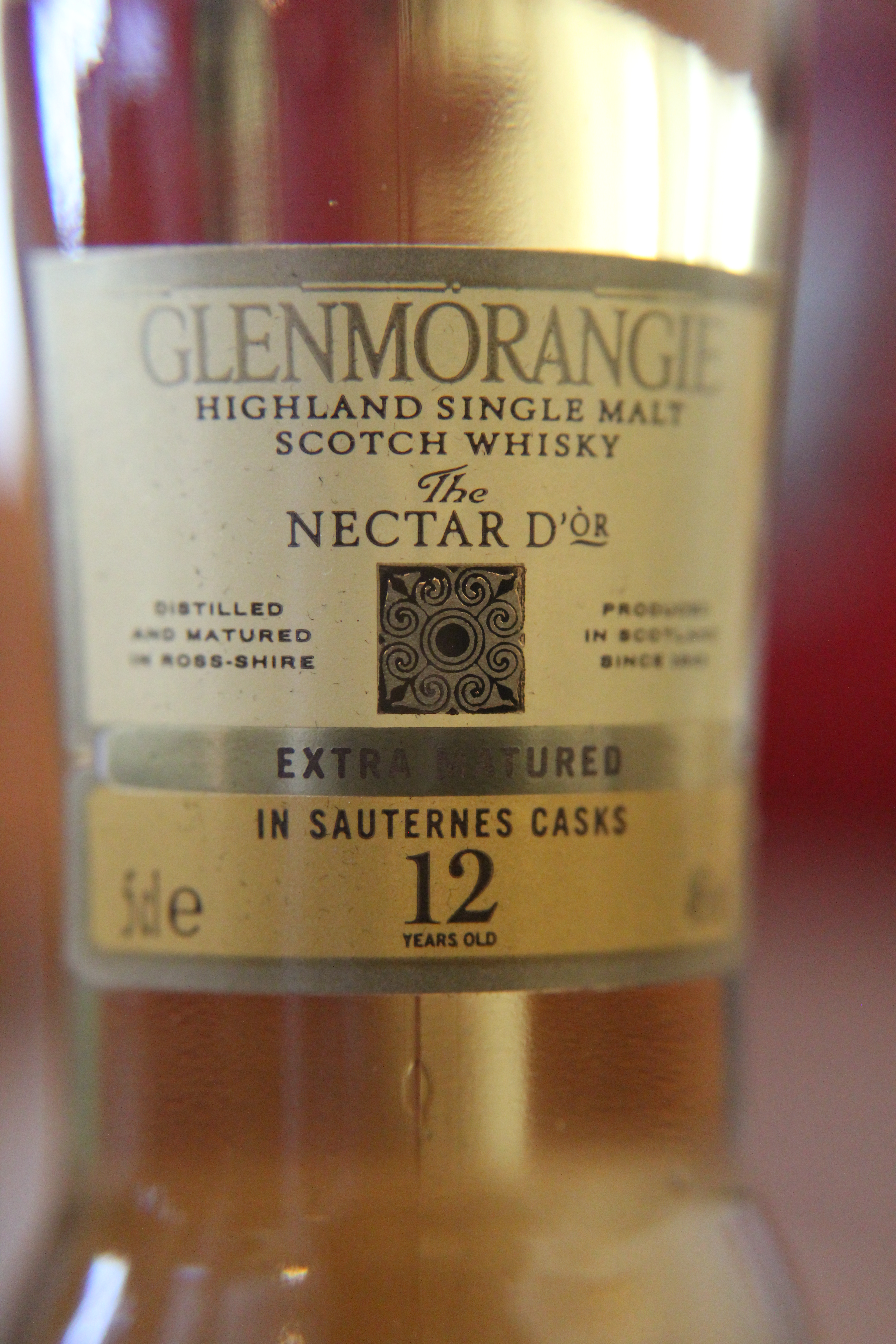Glenmorangie 12y Nectar d'Or with Dan