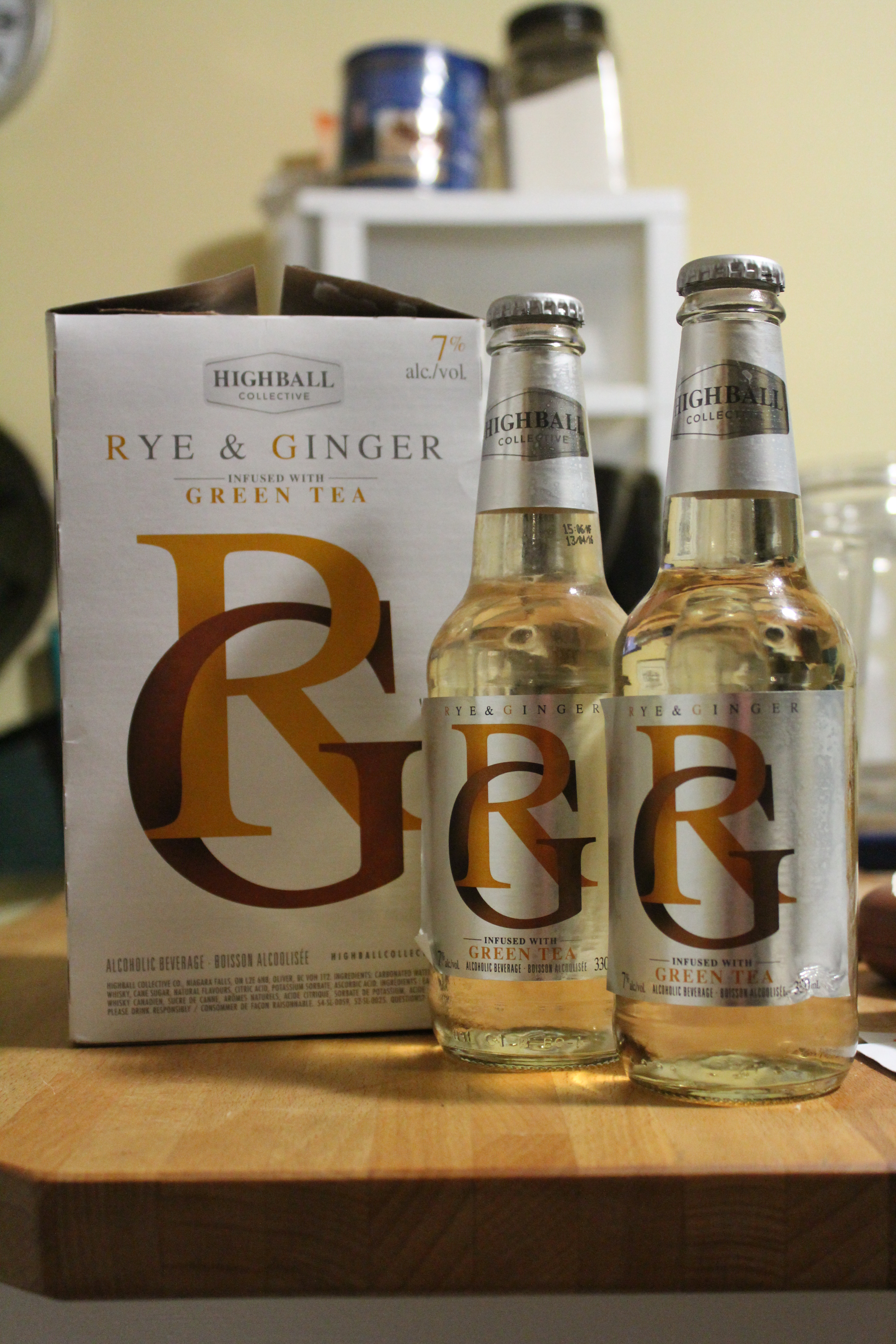 Highball Collective Green Tea Infused Rye & Ginger with Ryan