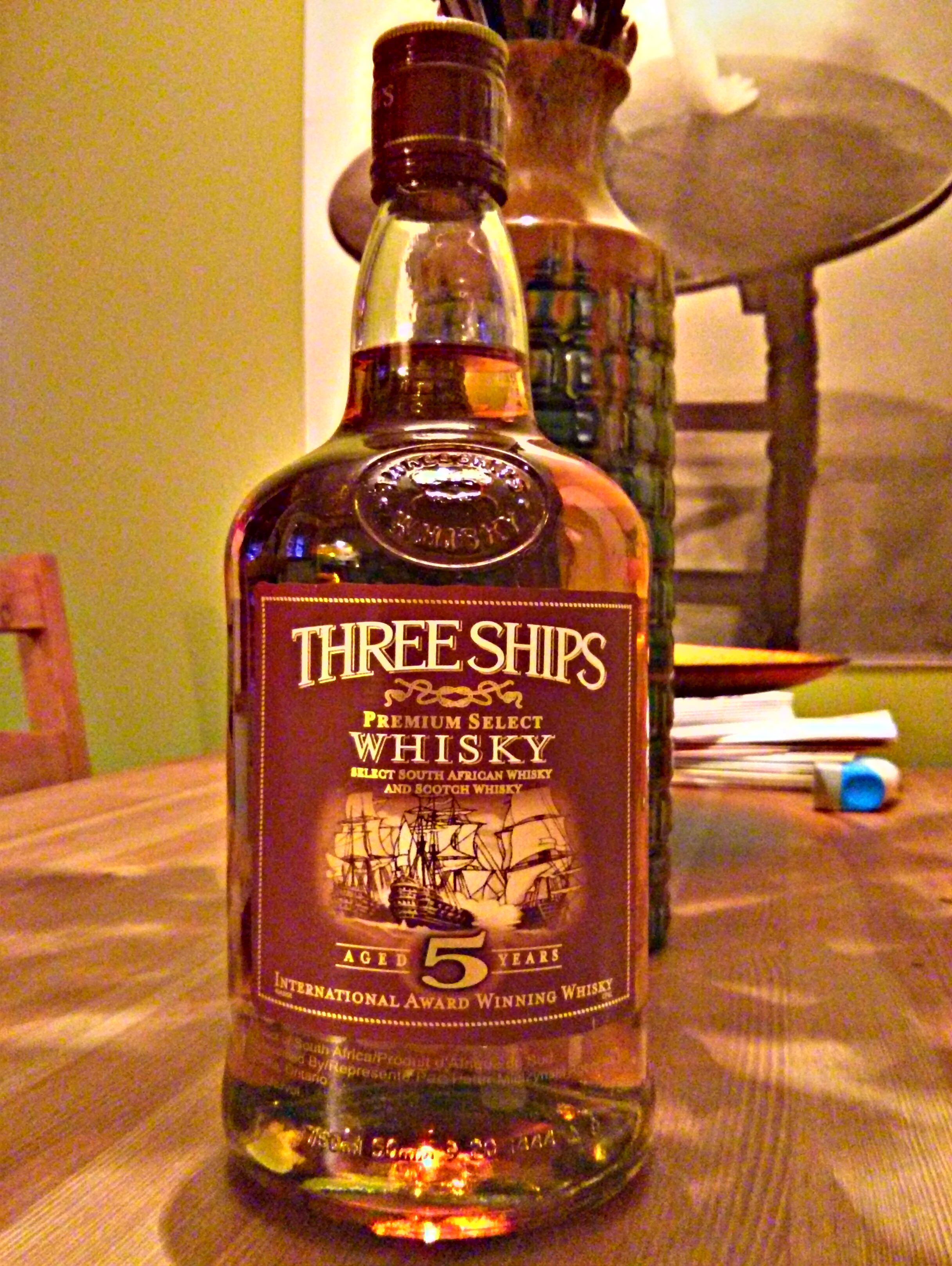 Three Ships Premium Select Whisky 5y with Dan & Goran
