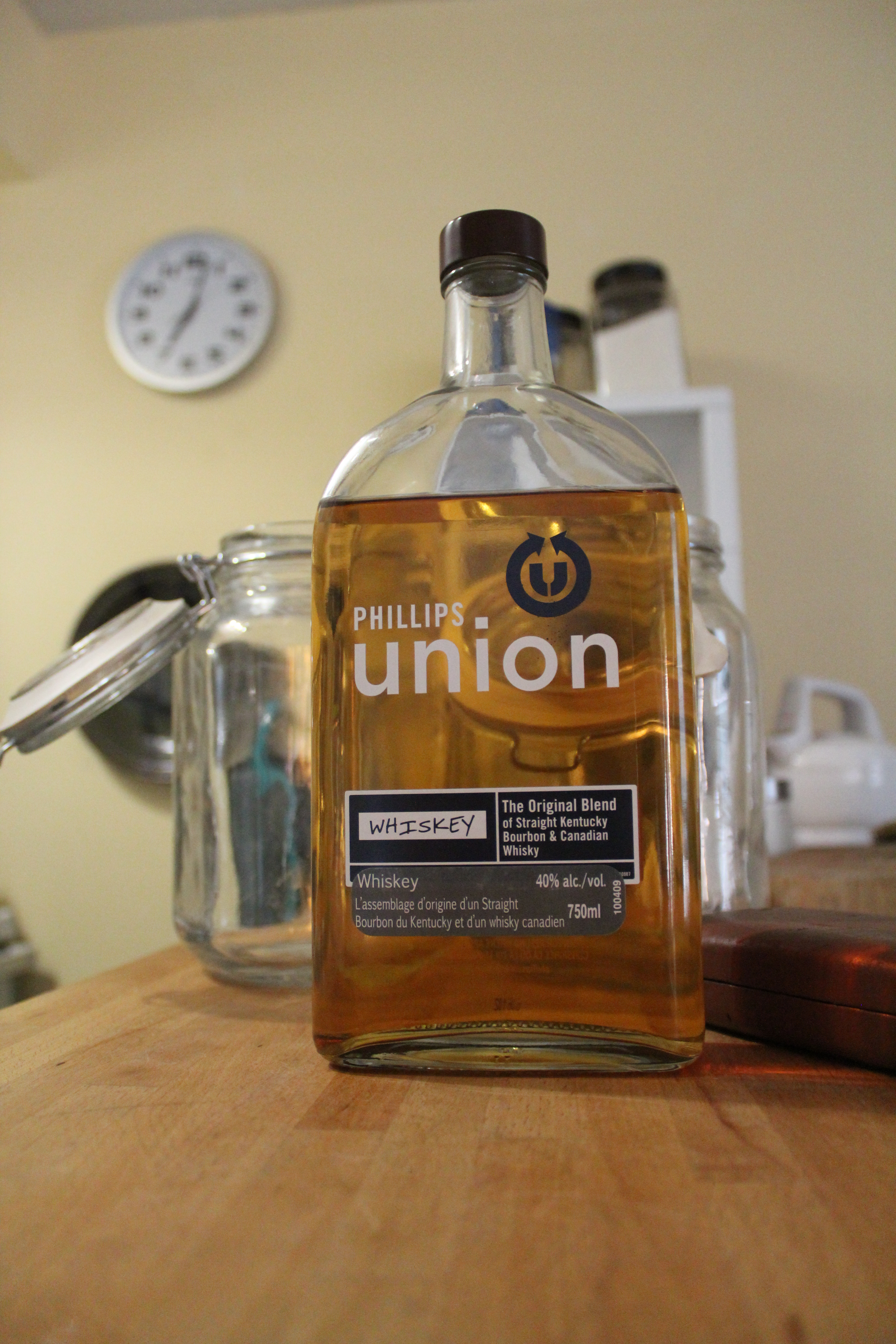 Phillips Union Whiskey Kentucky Straight Bourbon/Canadian Whisky with Dan