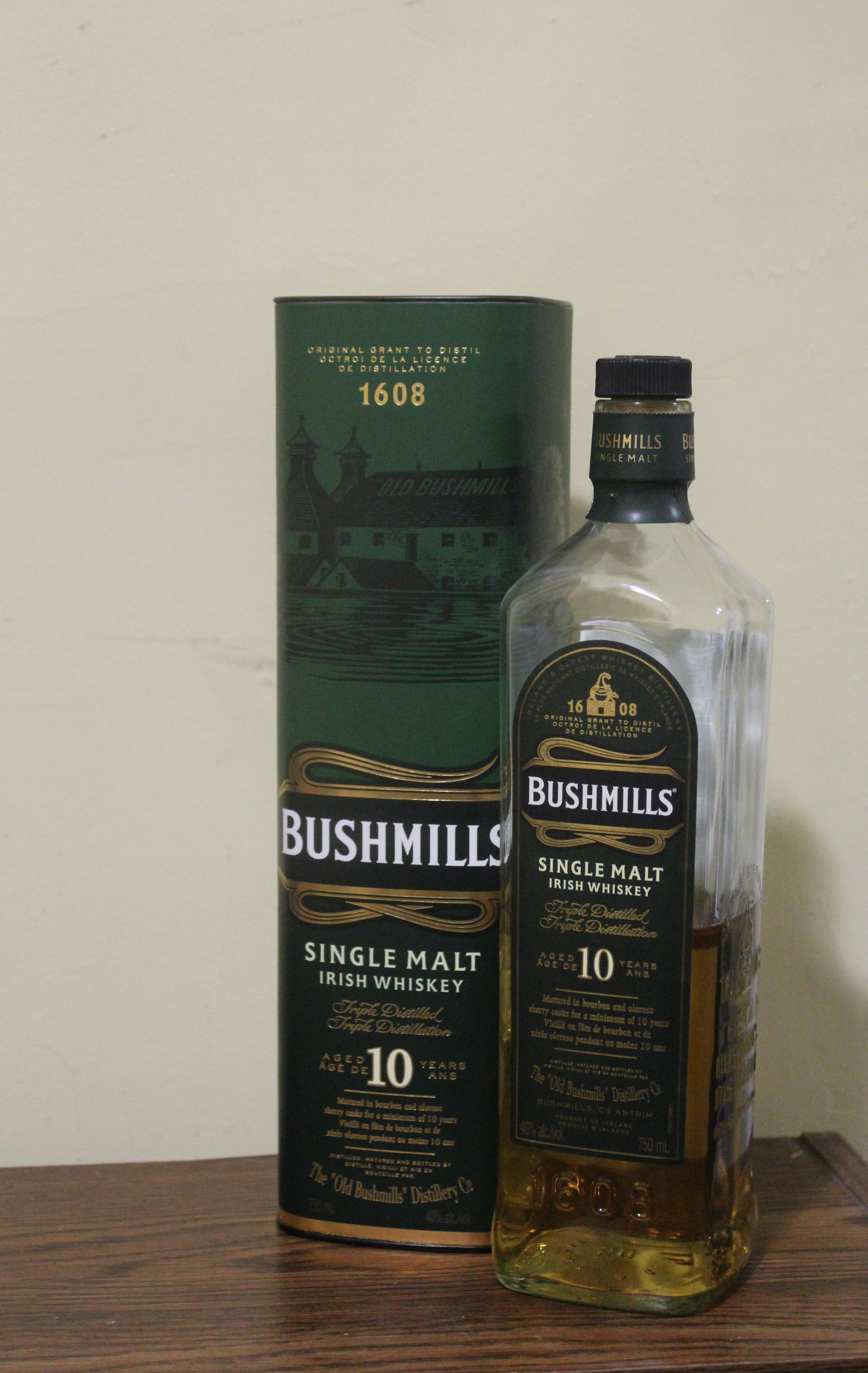 Bushmills 10y with Dan & Goran