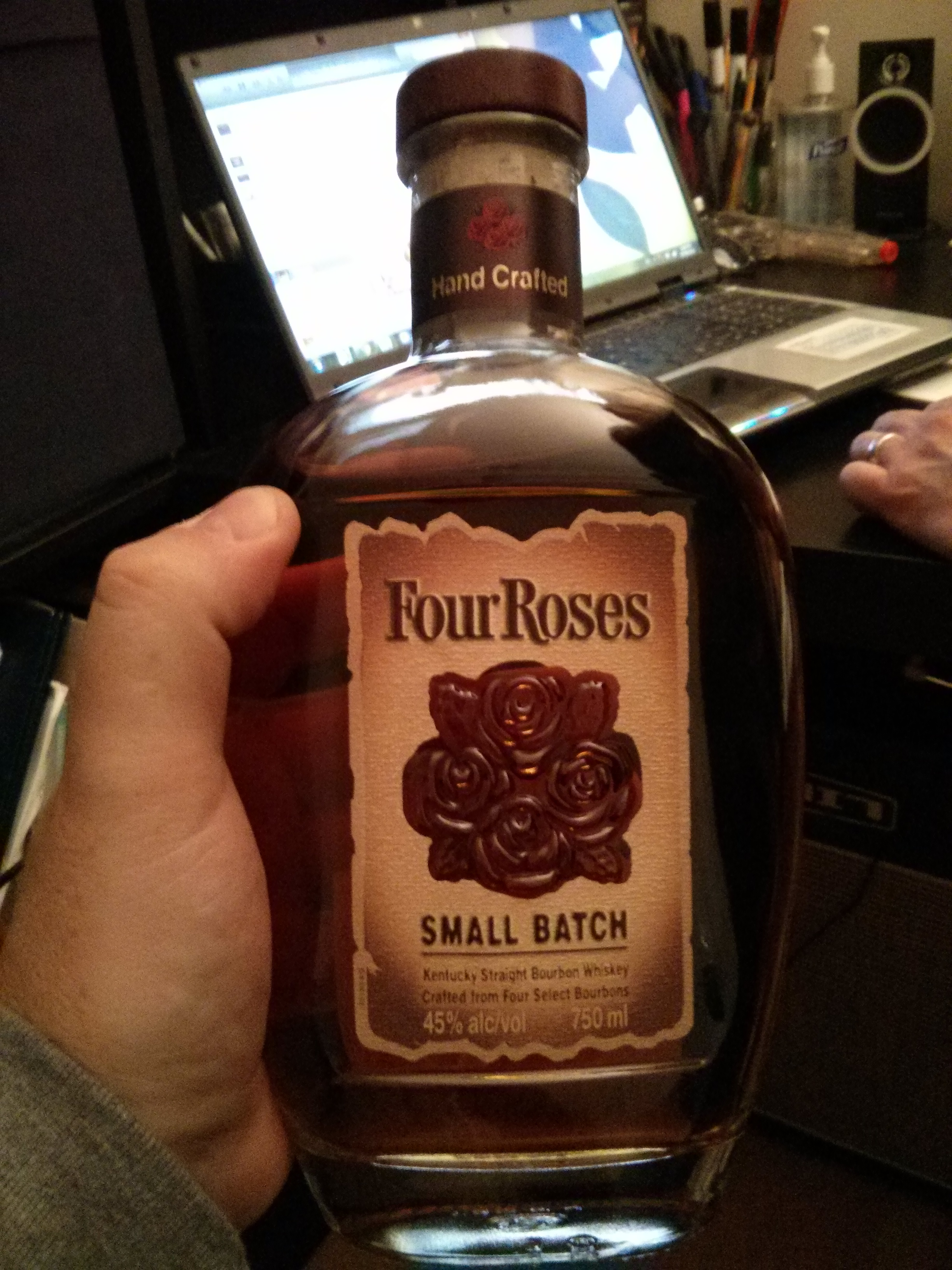ScotchParty Review #2 – Four Roses Small Batch with Dan, Ashley, Ryan, Goran & Bowick