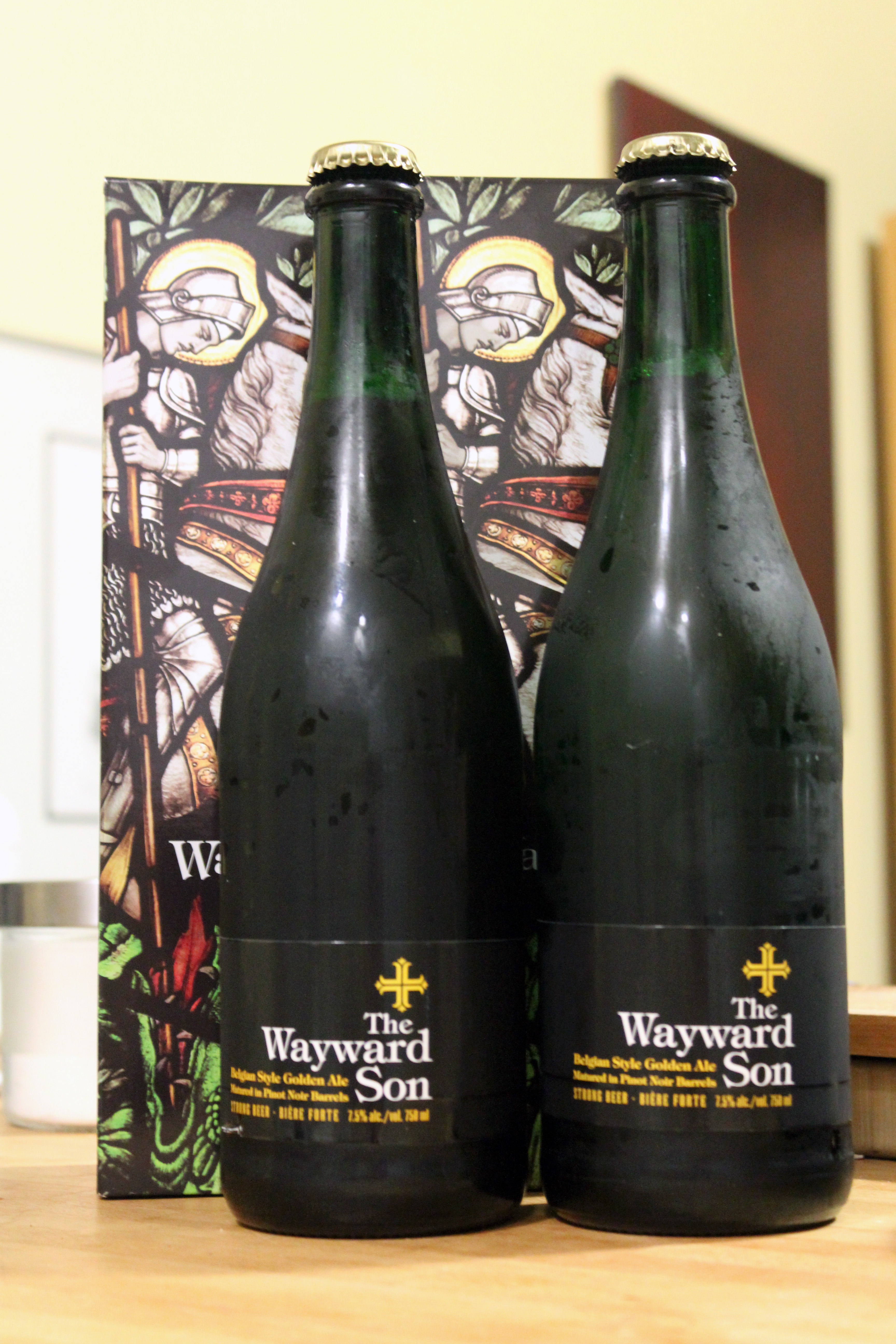 Radical Road The Wayward Son Belgian Style Golden Ale with Ryan