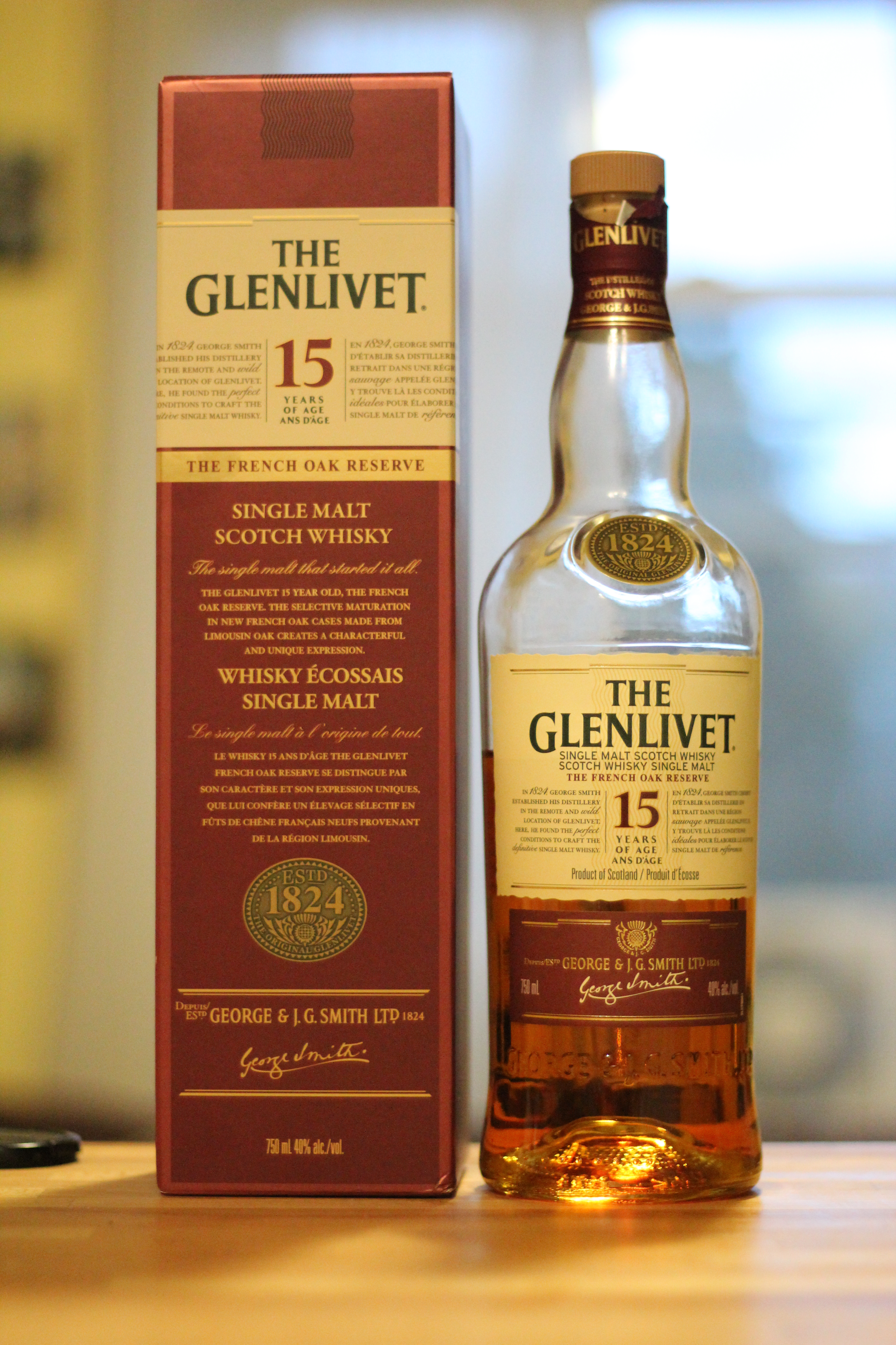 The Glenlivet 15y French Oak Reserve with Dan, Goran & MC The Actual MC
