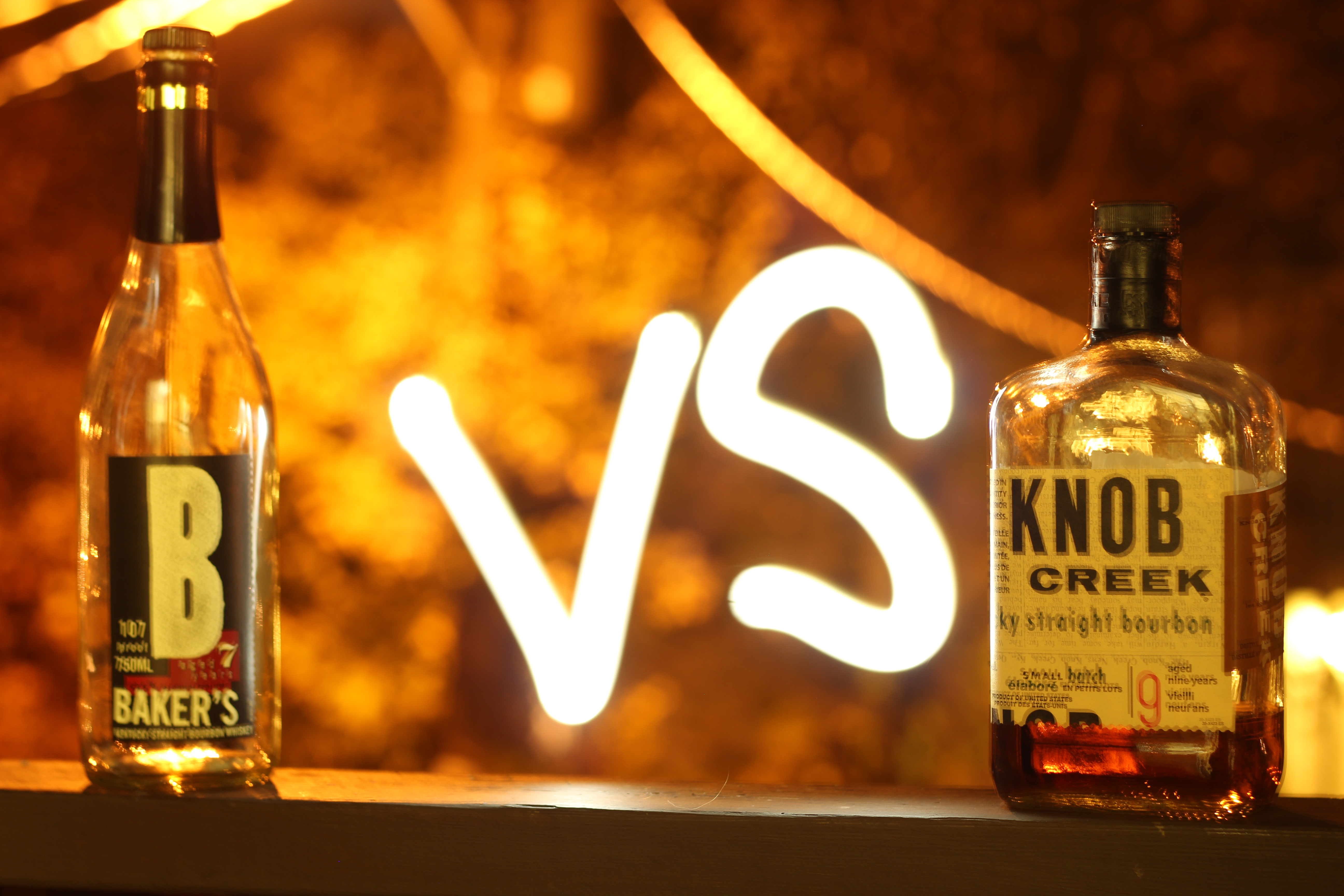 BattleScotch! Baker's 7y v Knob Creek 9y with Dan & Ryan