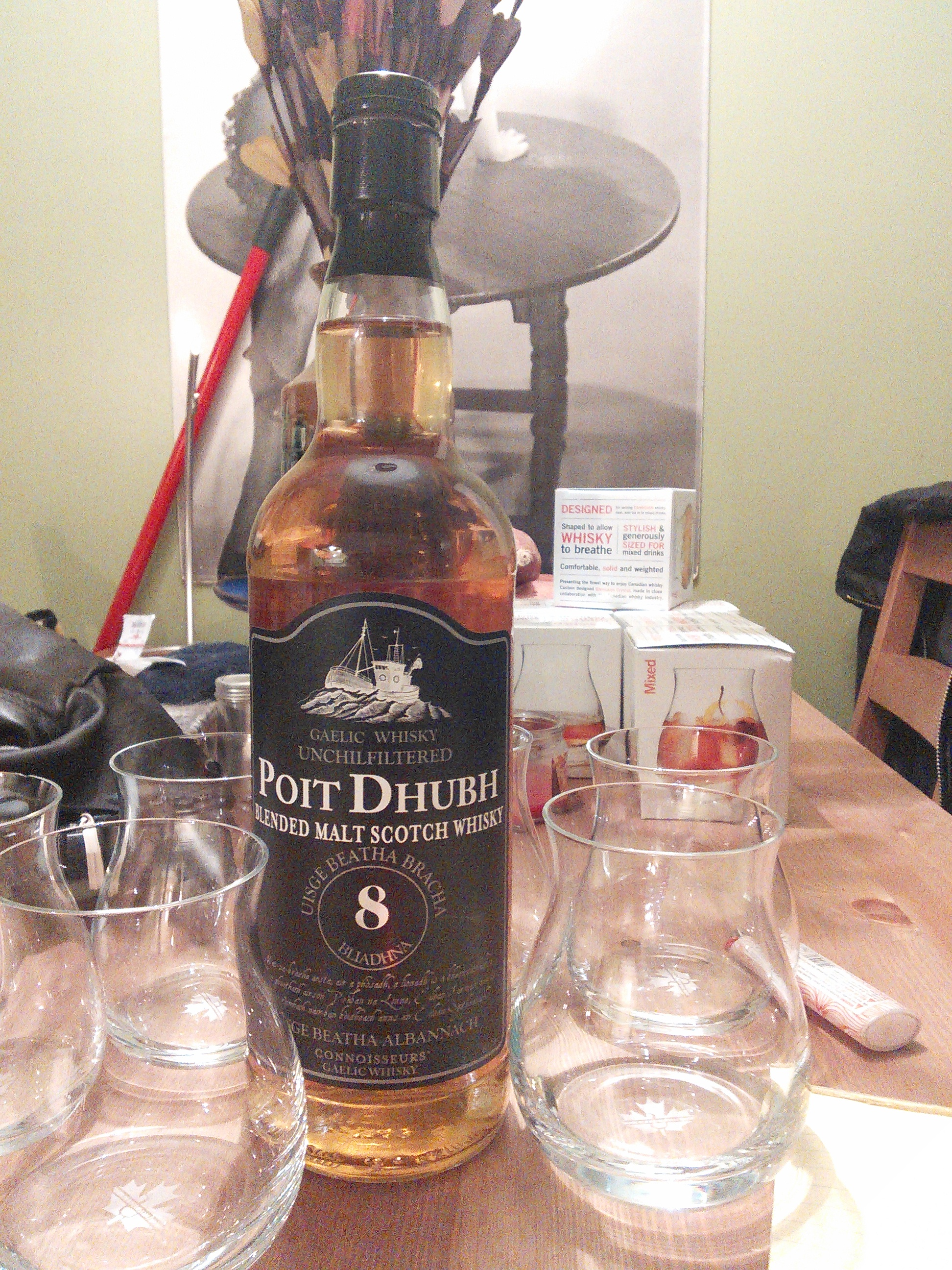 Poit Dhubh 8y Blended Scotch with Dan, Goran, Ryan & Bowick