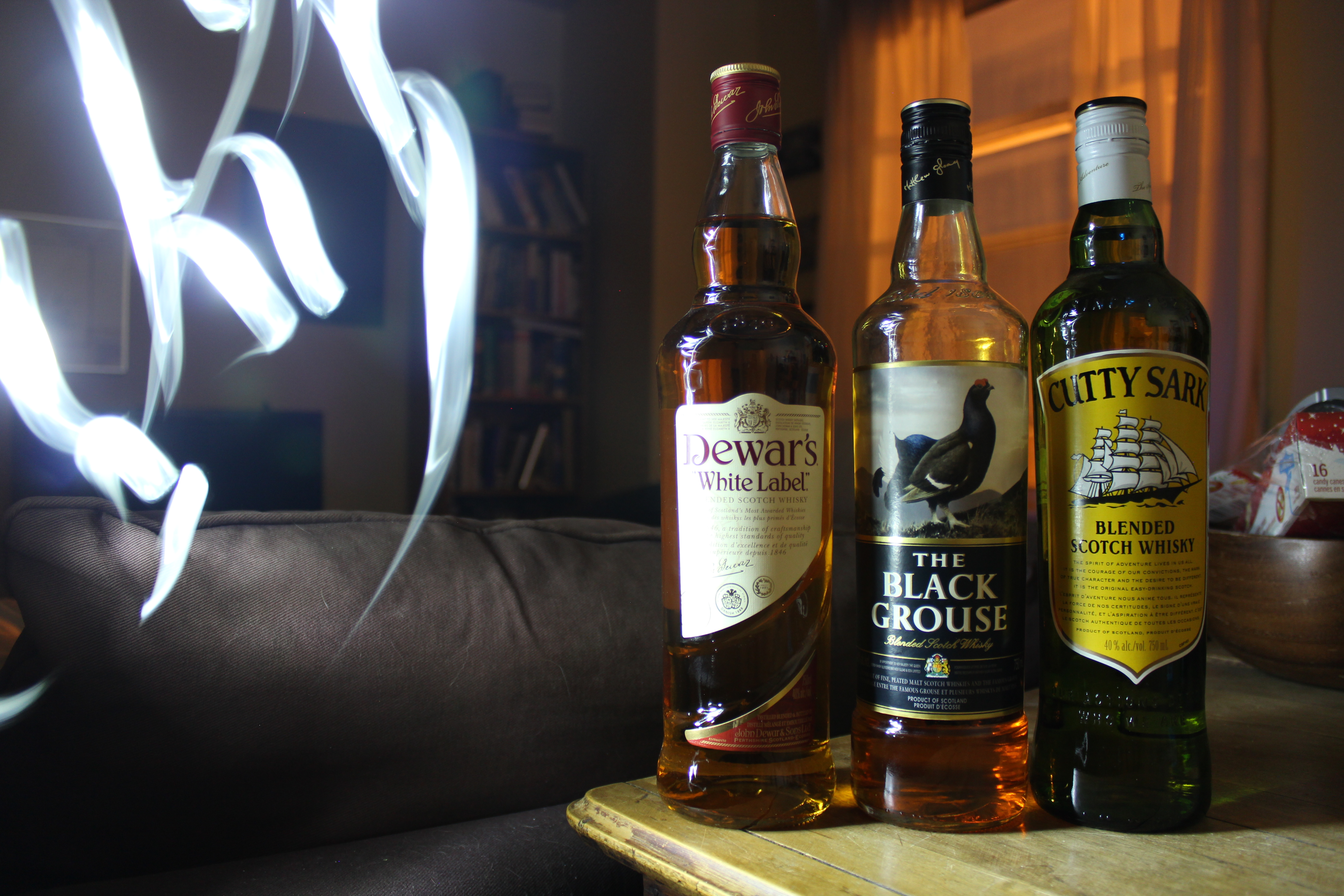 BlenderScotch Royale! Dewar's White Label v The Black Grouse v Cutty Sark with Dan, Ryan, Goran & Matt