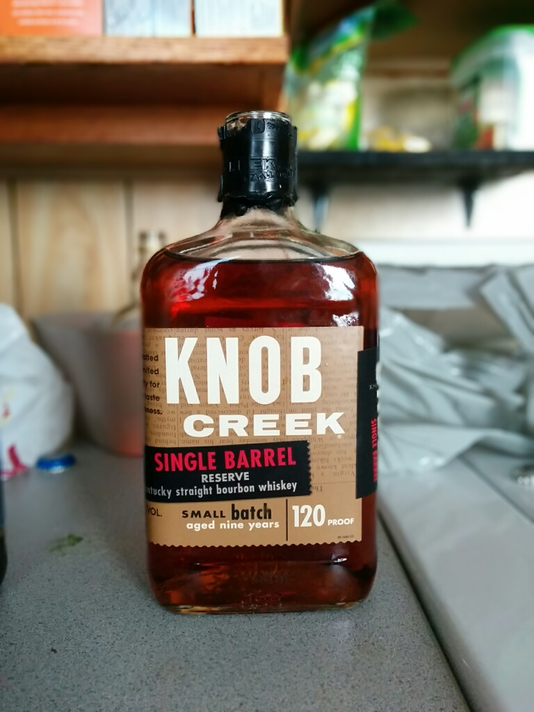 Knob Creek 9y Single Barrel Reserve with Dan