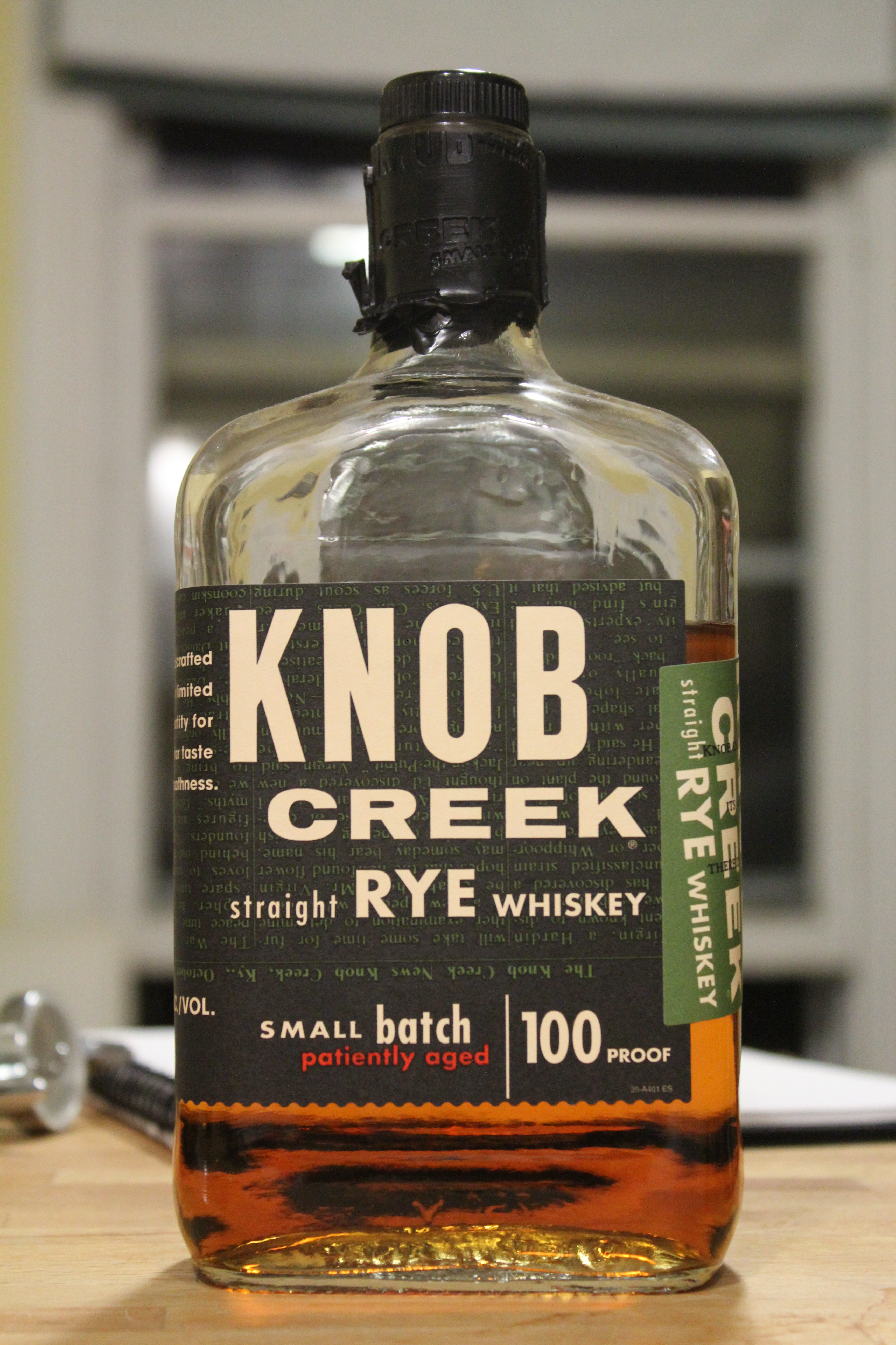 Knob Creek Straight Rye with Dan & Ryan
