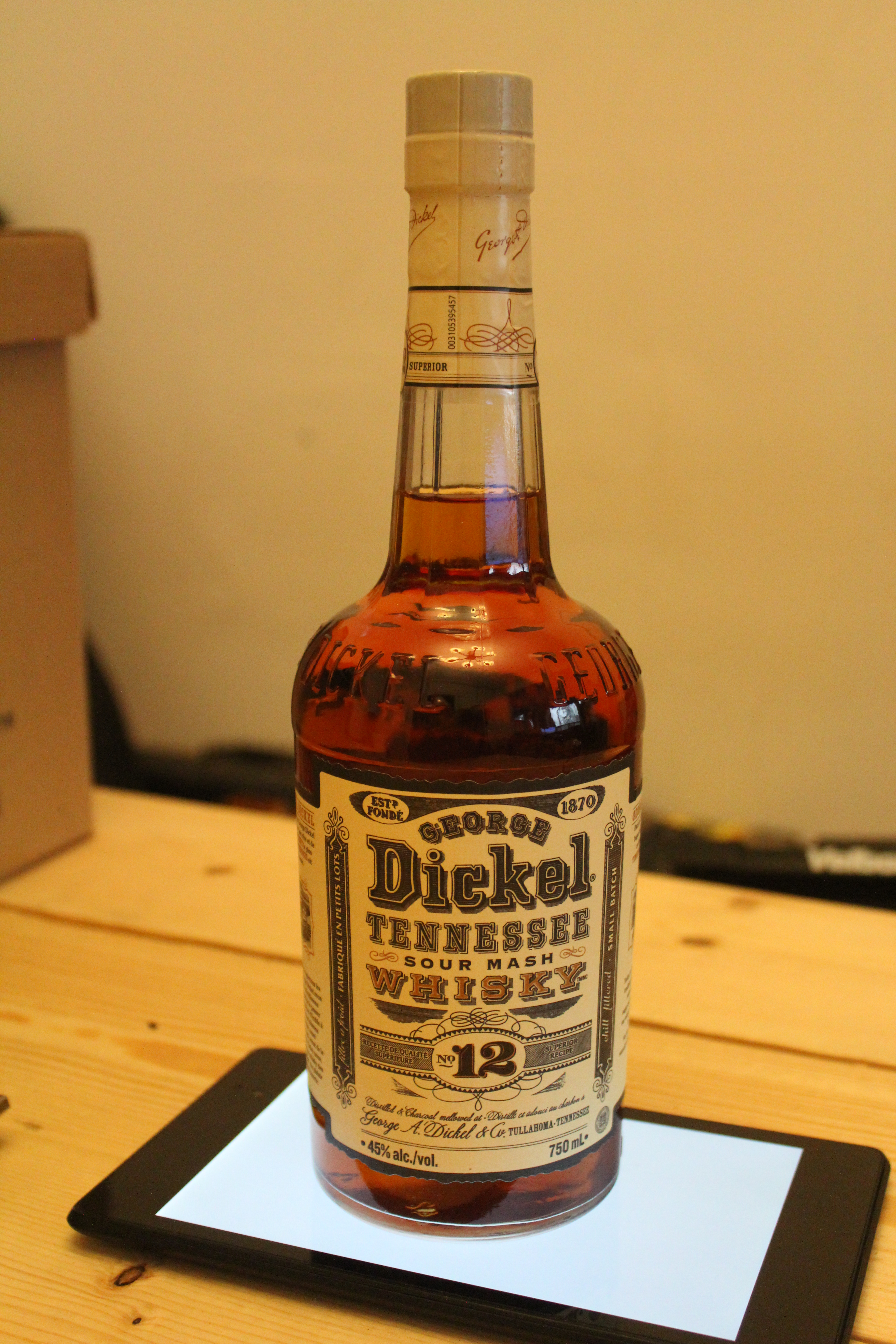 George Dickel No. 12 Tennessee Sour Mash Whisky with Dan & Davey