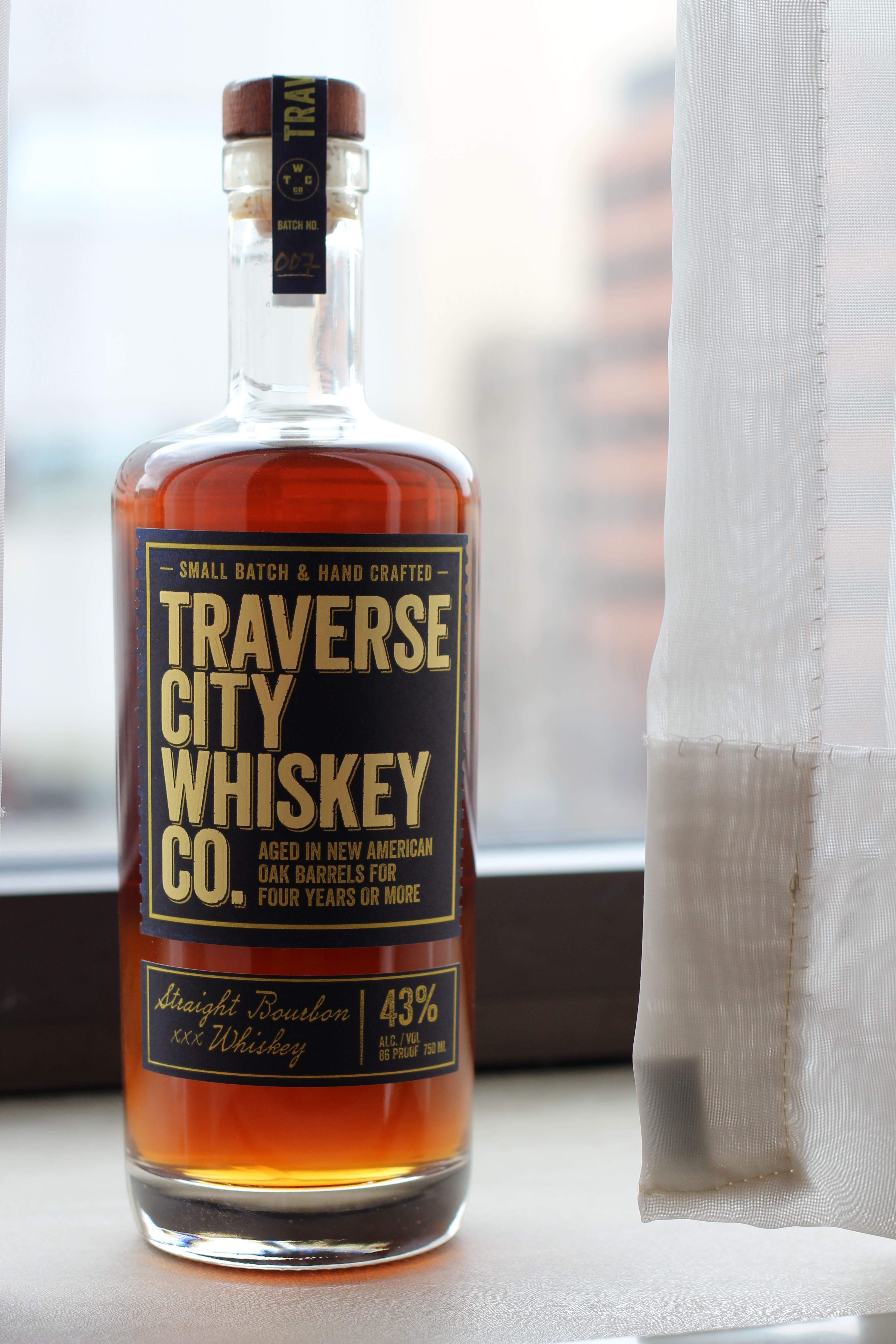 Traverse City Whiskey Company 4y Straight Bourbon with Dan & Julia