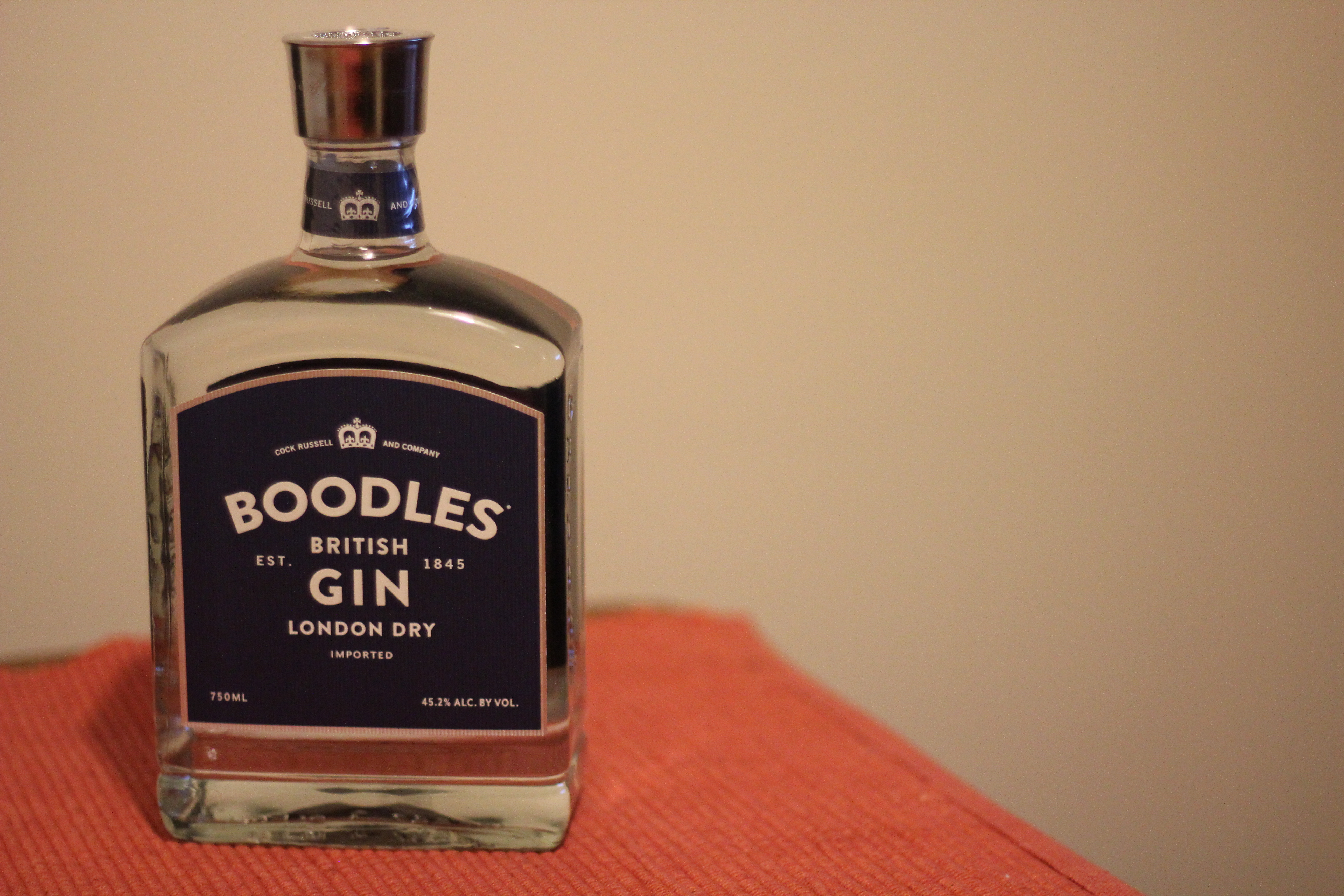 Boodles London Dry Gin with Steve