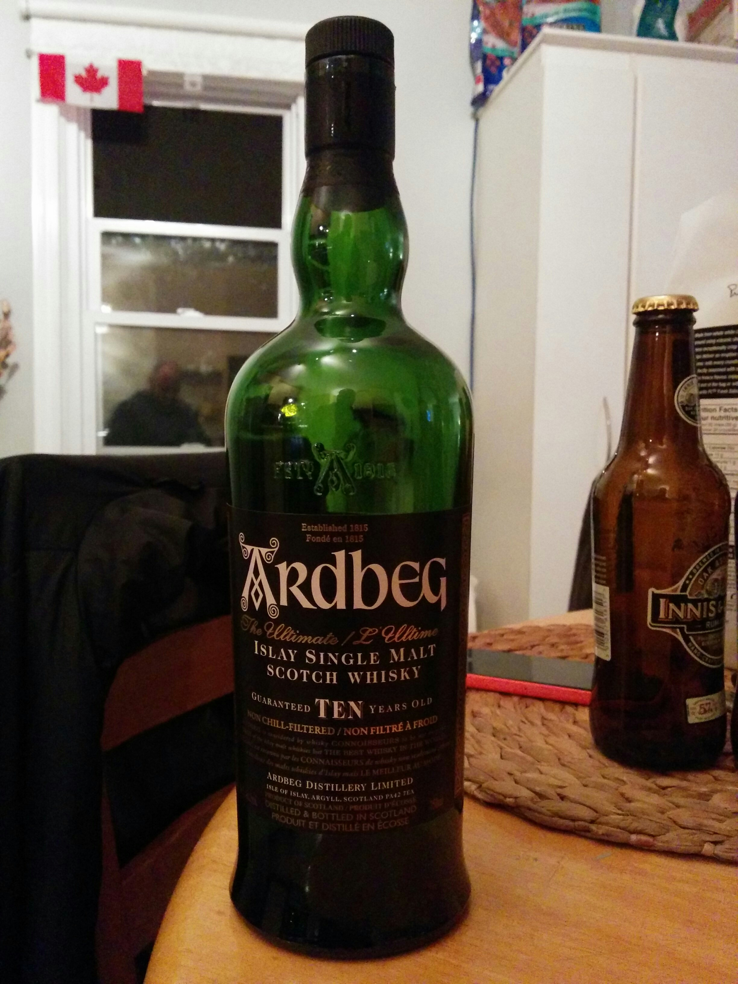 Round 2! Ardbeg 10y with Dan