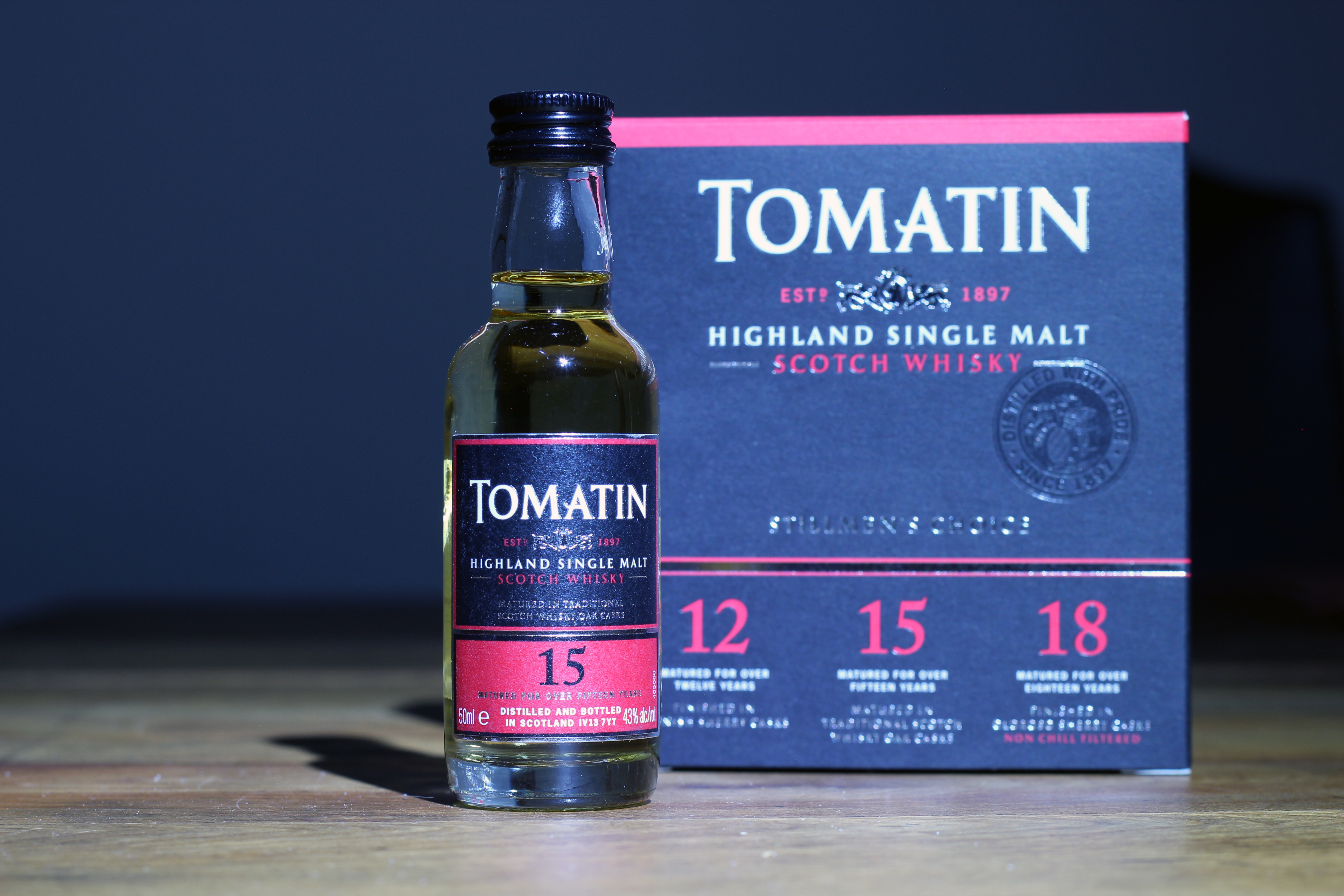 Tomatin 15y with Dan