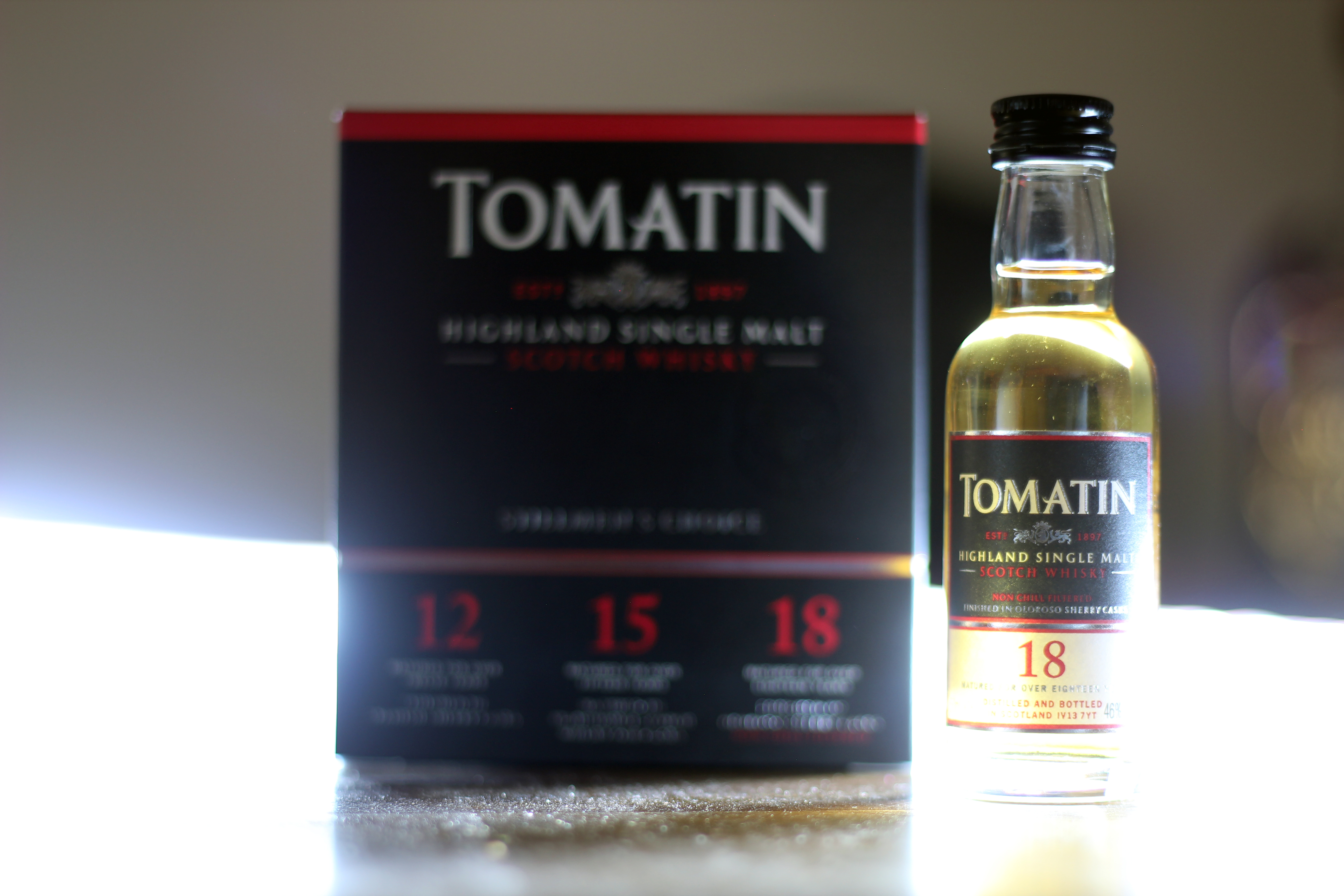 Tomatin Oloroso 18y with Dan