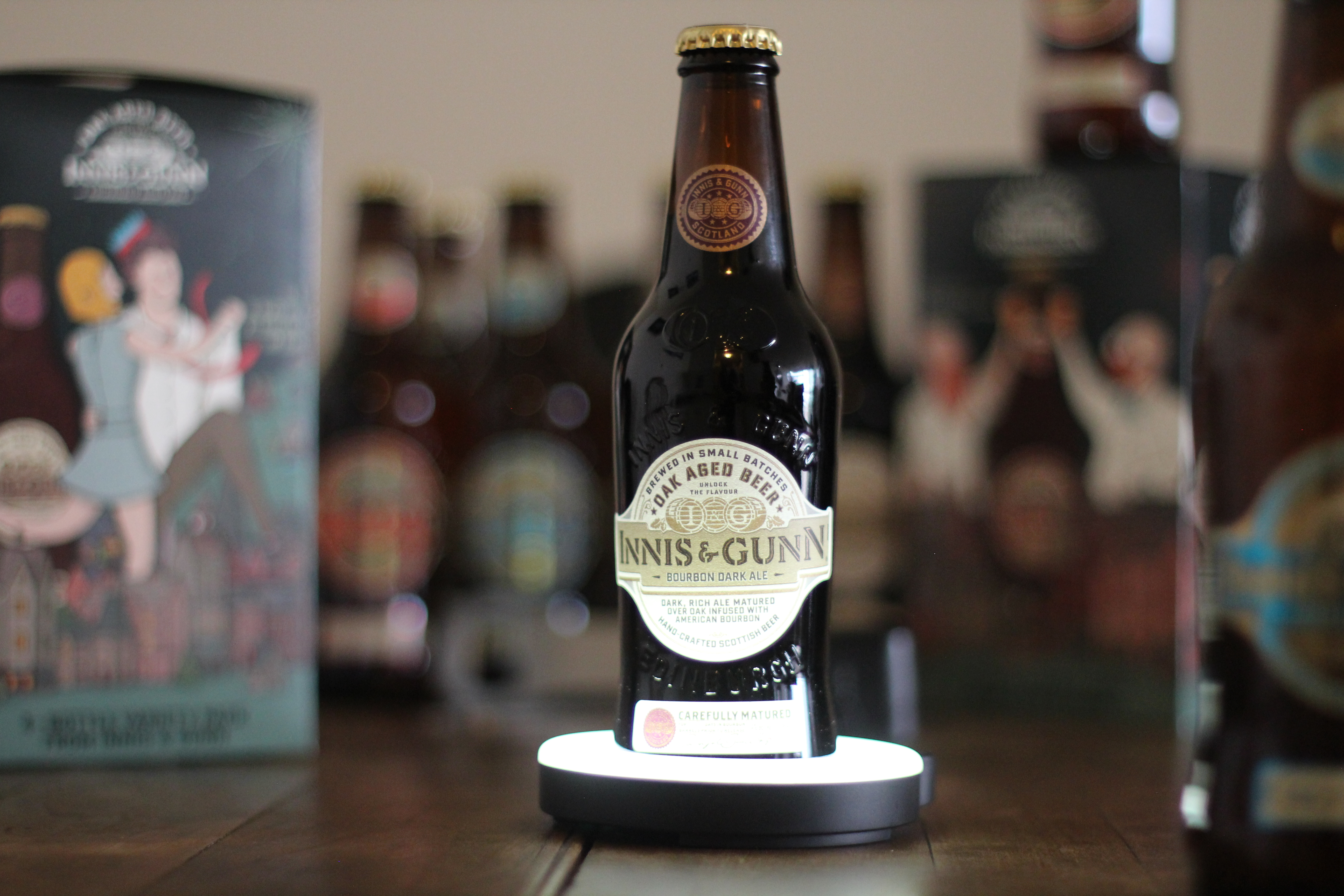 Innis & Gunn Bourbon Dark Ale with Dan