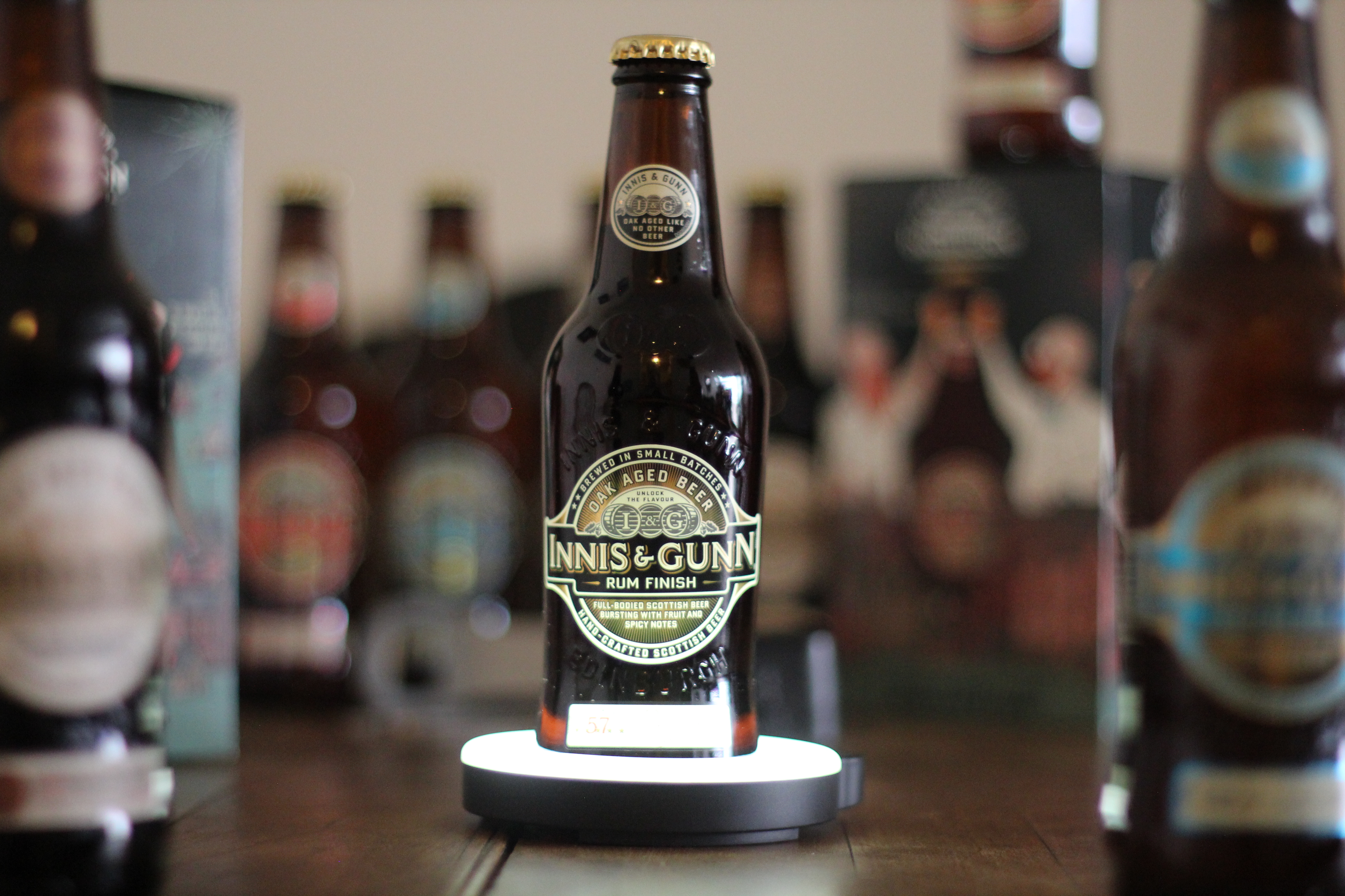 Innis & Gunn Rum Finish with Dan
