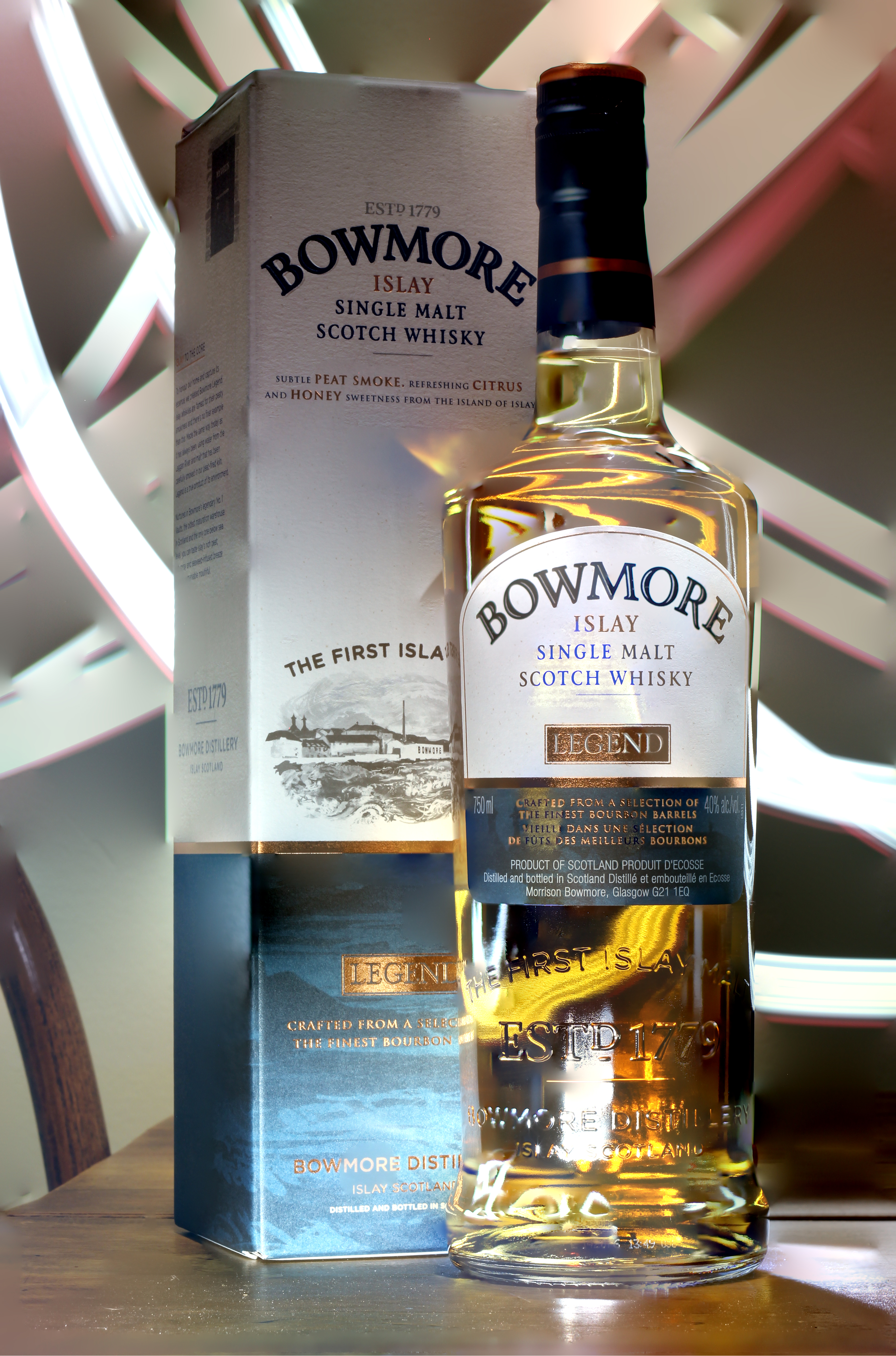 Bowmore Legend with Steve, Goran, Dan & Matt