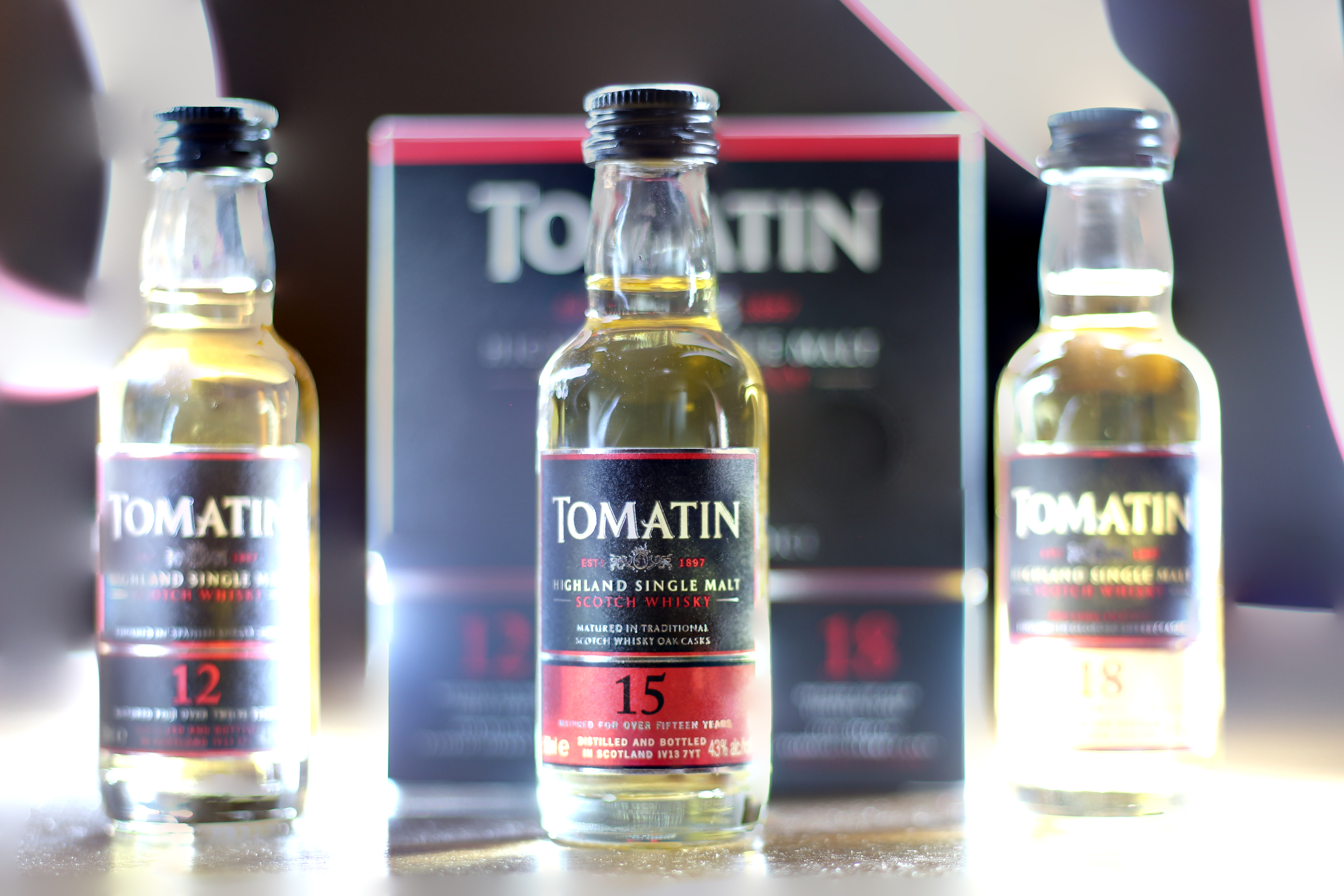 BattleScotch! Tomatin Spanish Sherry 12y v 15y v Oloroso 18y with Dan