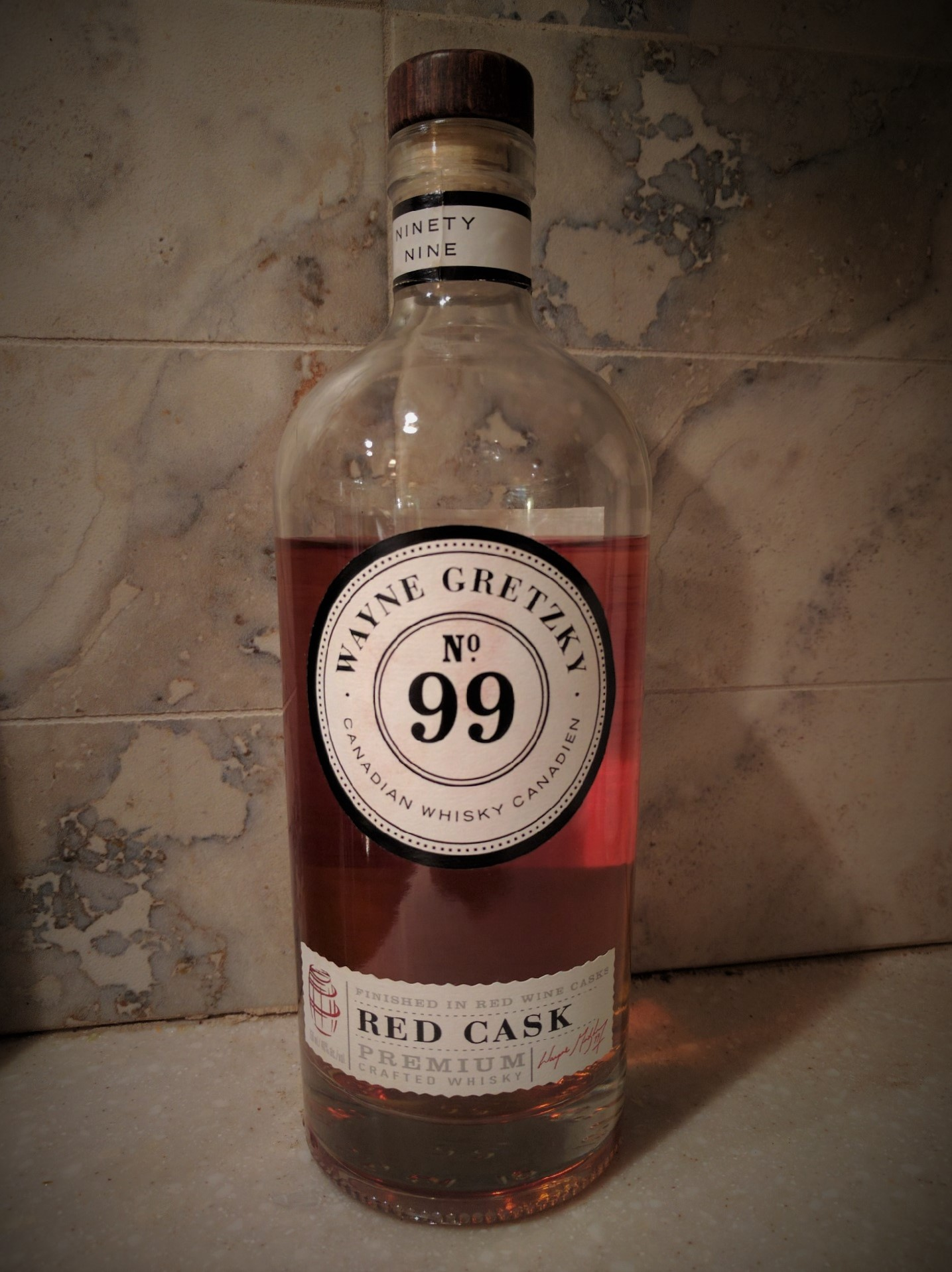 Wayne Gretzy 99 Red Cask with Dan, Davey, Vanni & Ryan