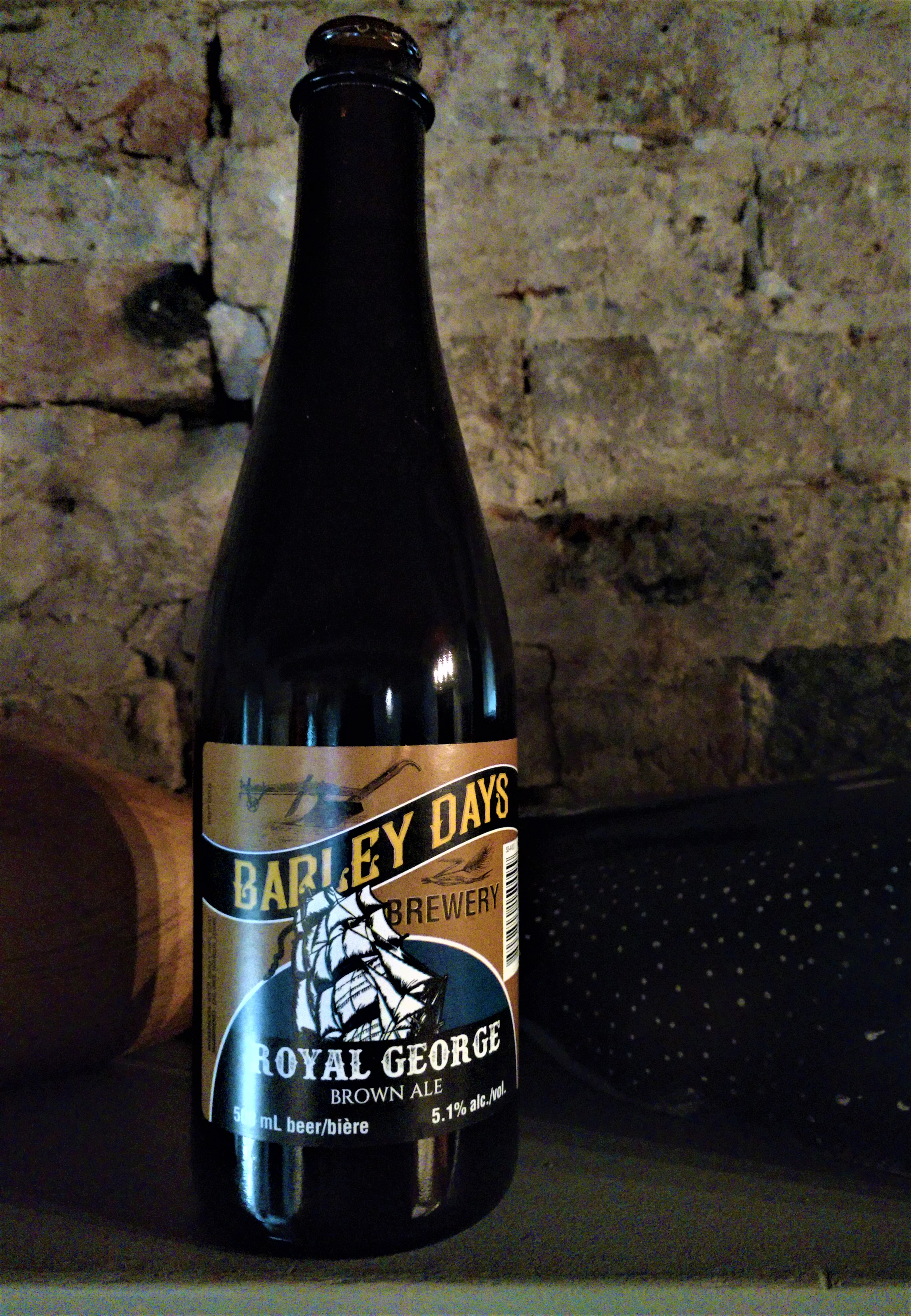 Barley Days Brewery Royal George Brown Ale