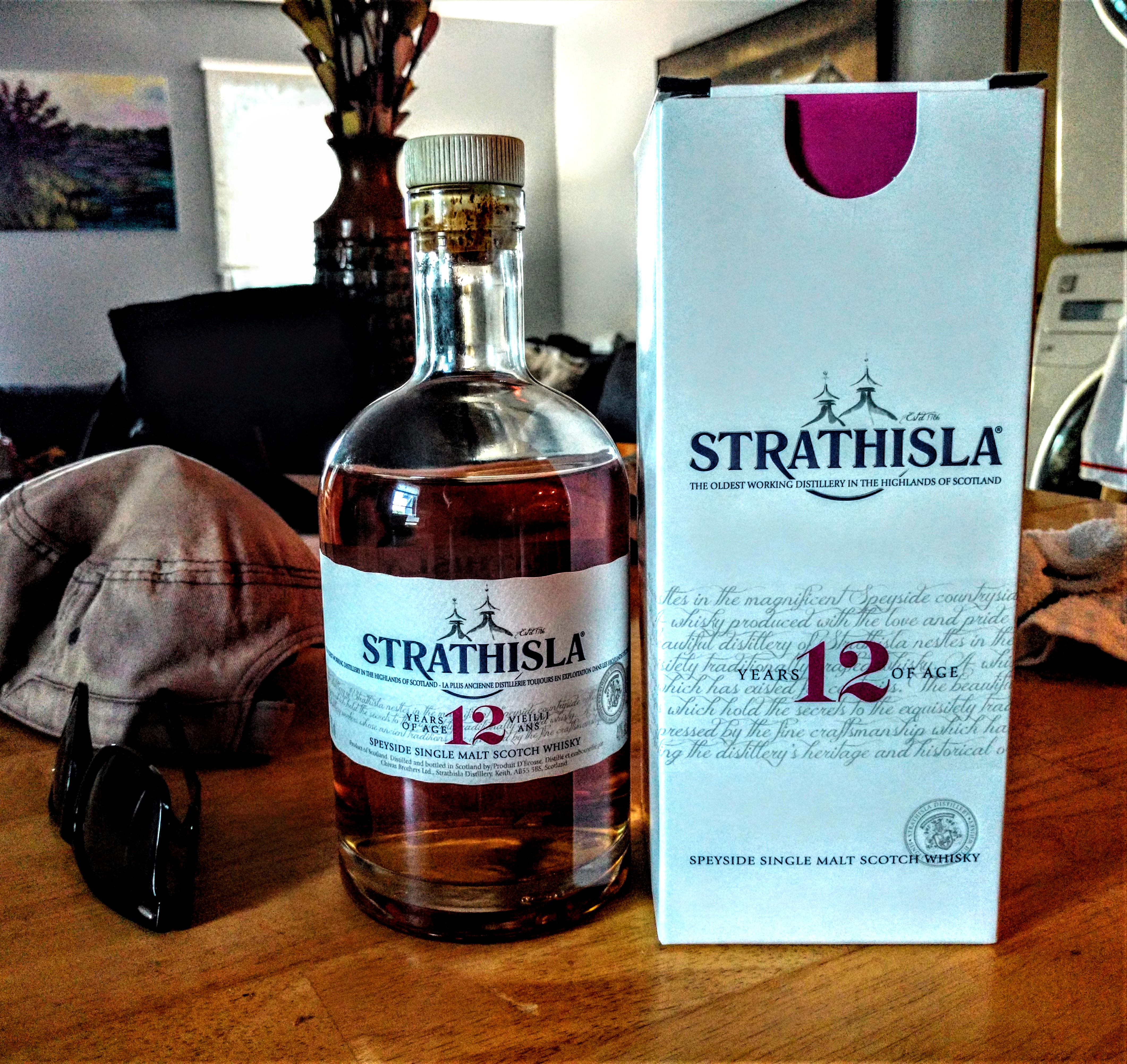 Strathisla 12y Single Malt Scotch with Dan