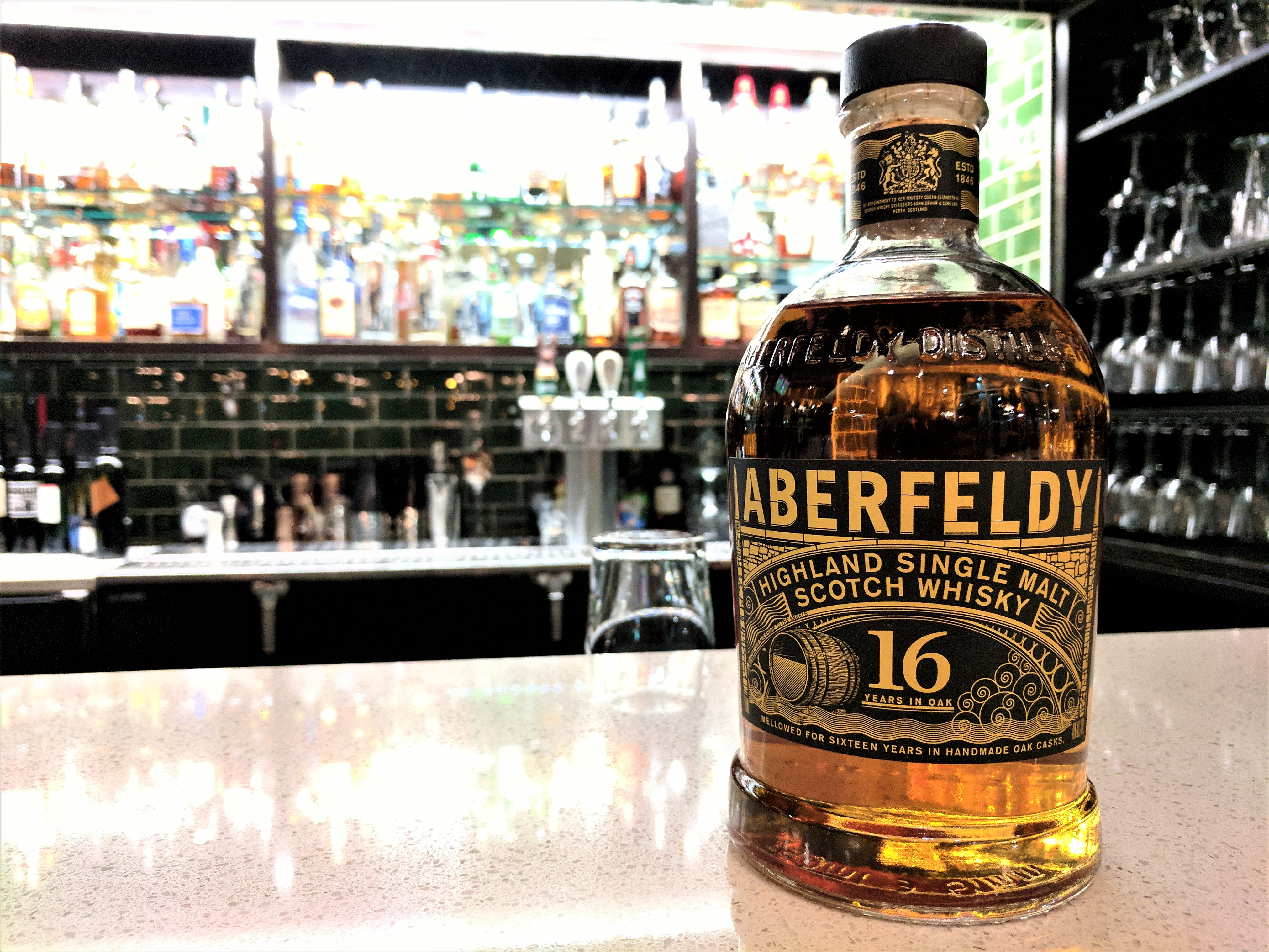 Saskatoon Sessions: Aberfeldy 16y Single Malt Scotch