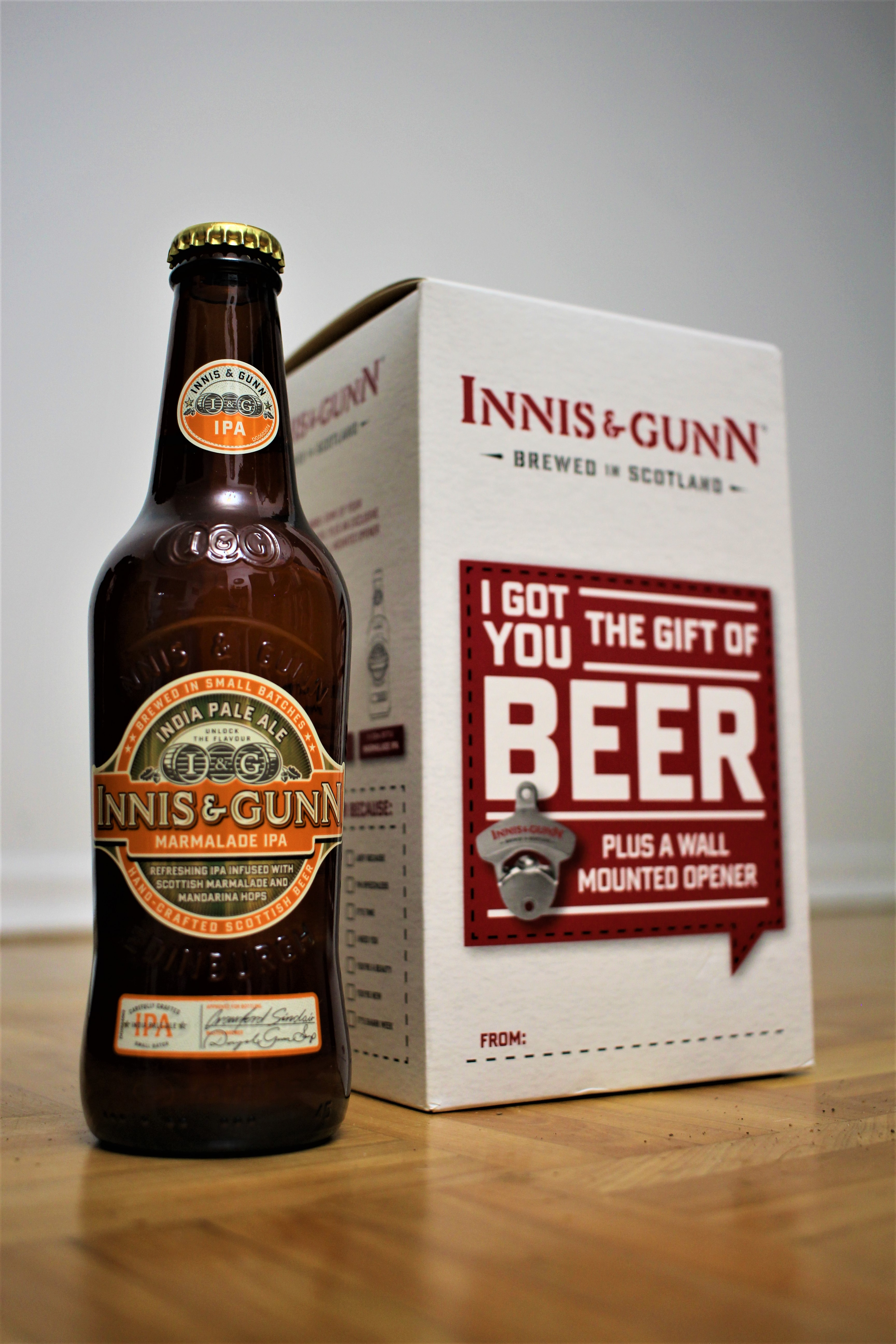 Innis & Gunn Marmalade India Pale Ale with Dad