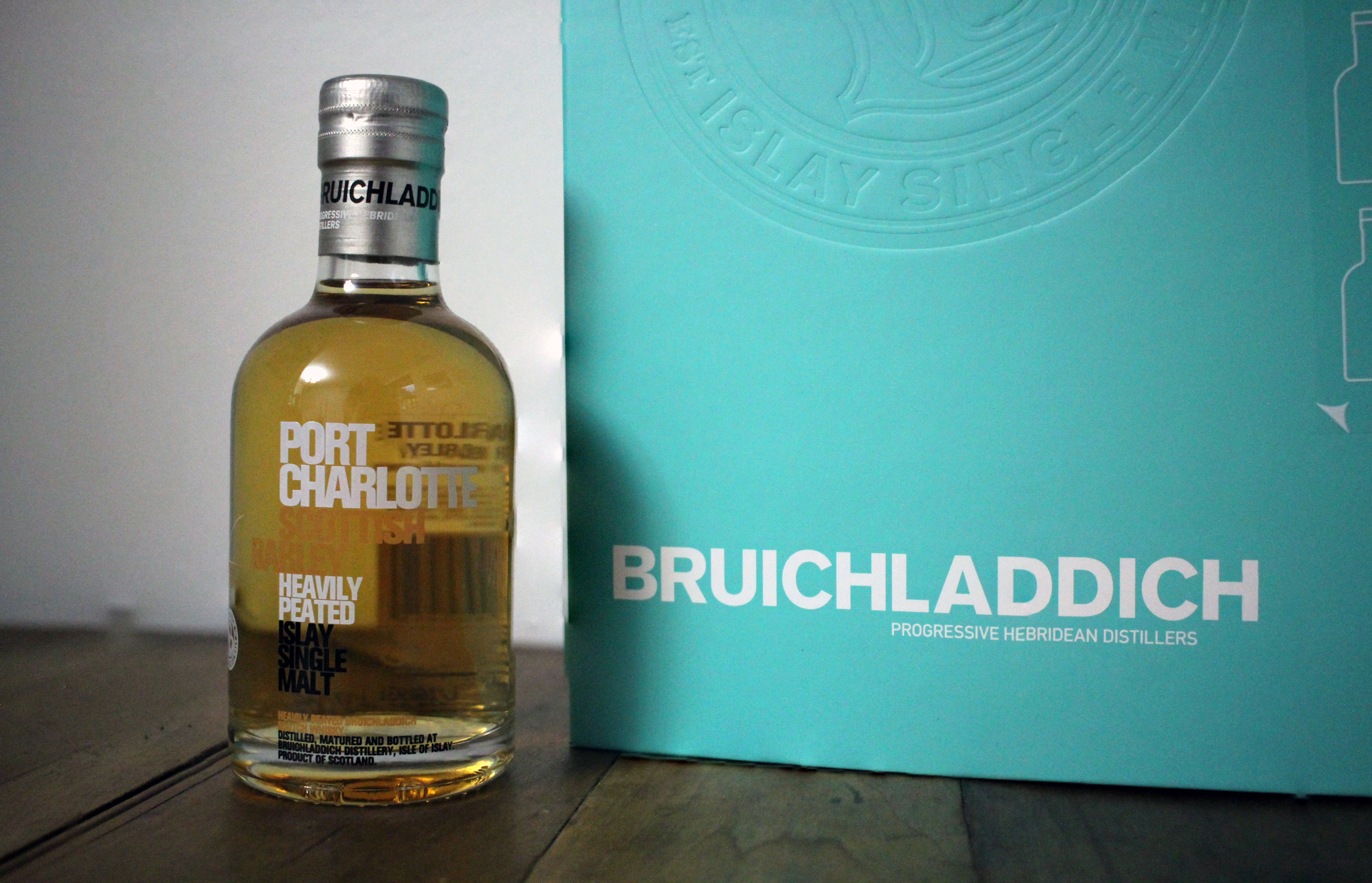 Bruichladdich Port Charlotte Heavily Peated Scottish Barley with Dan & Ryan