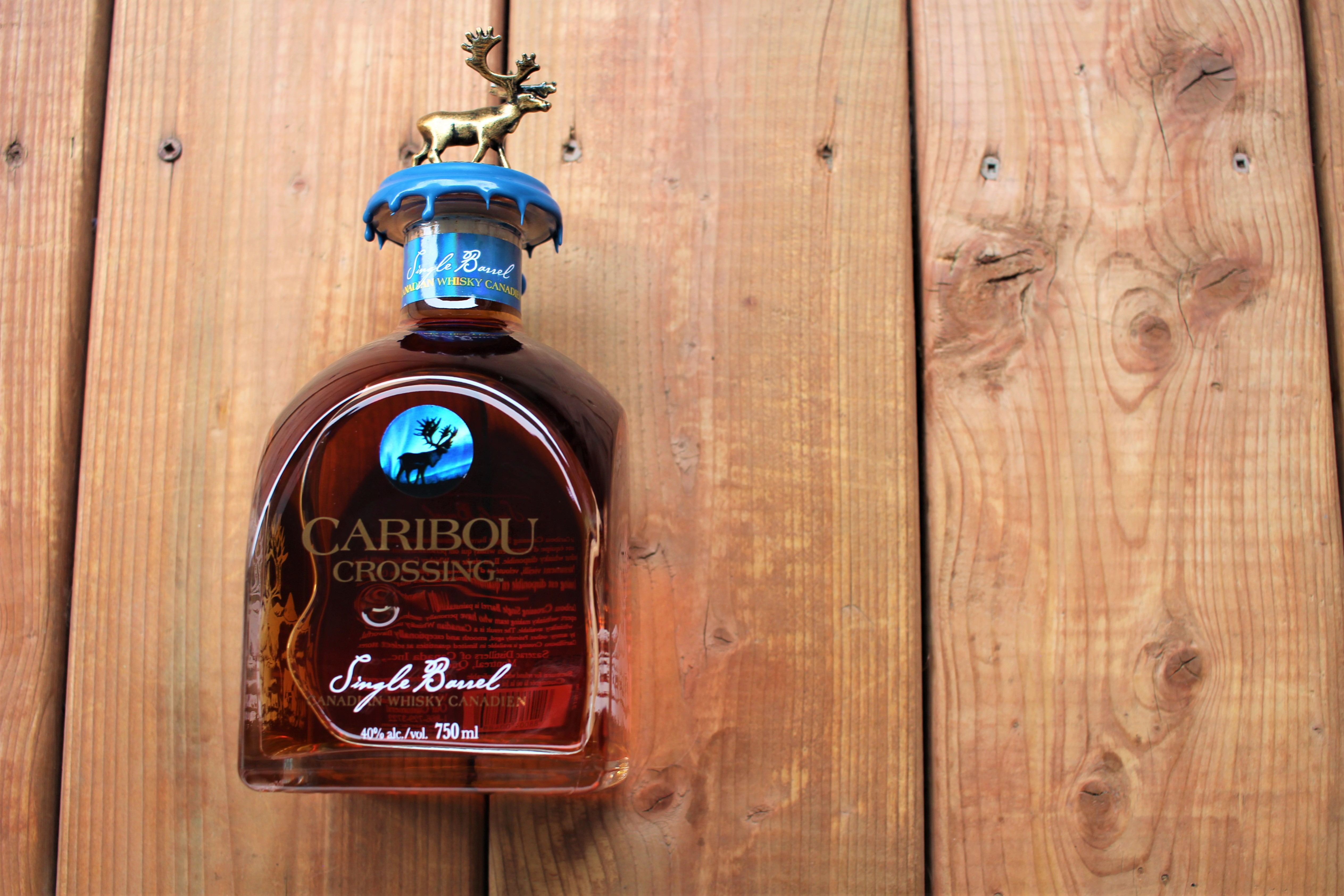Caribou Crossing Single Barrel Canadian Whisky with Dan