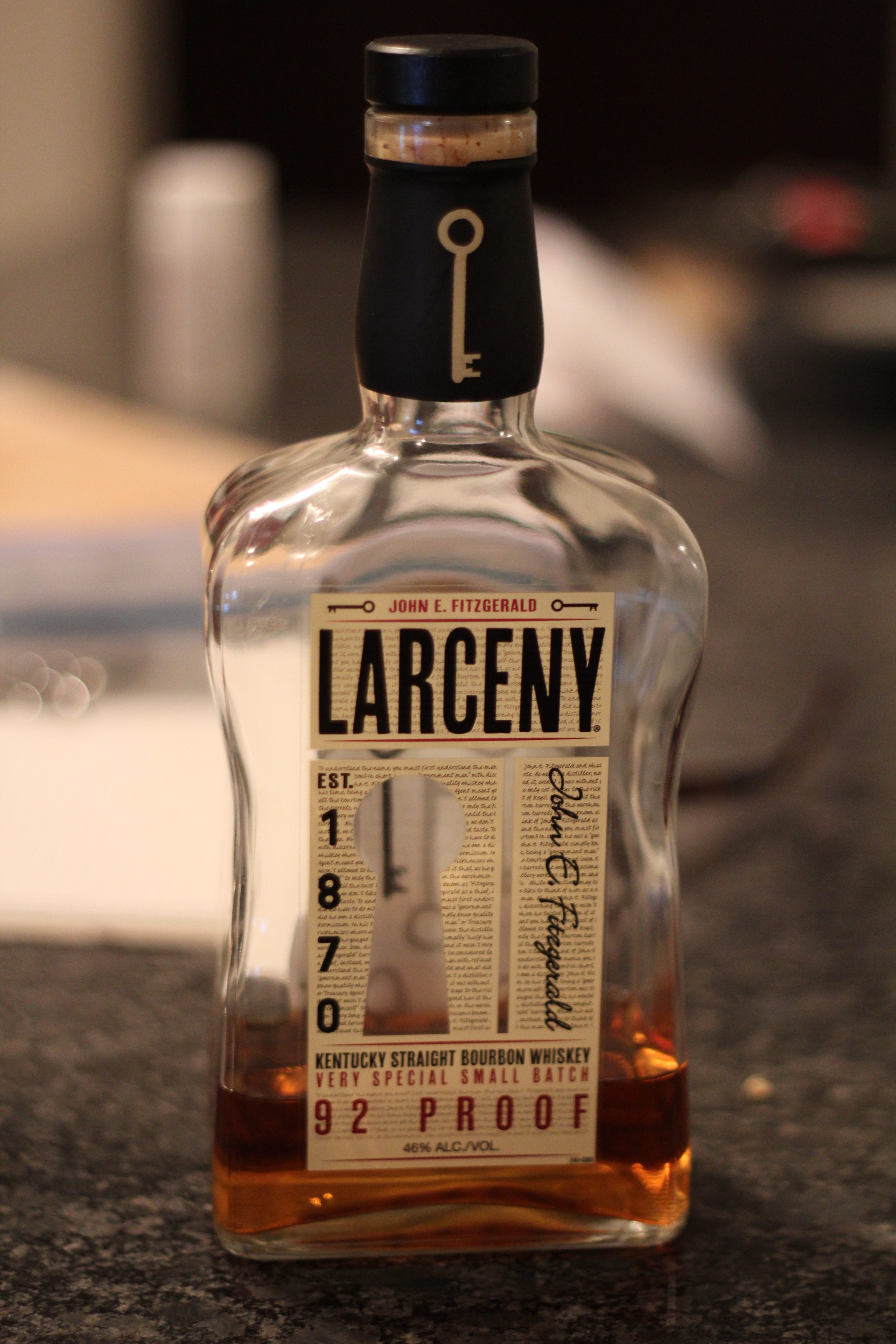 Larceny Kentucky Straight Bourbon with Dan
