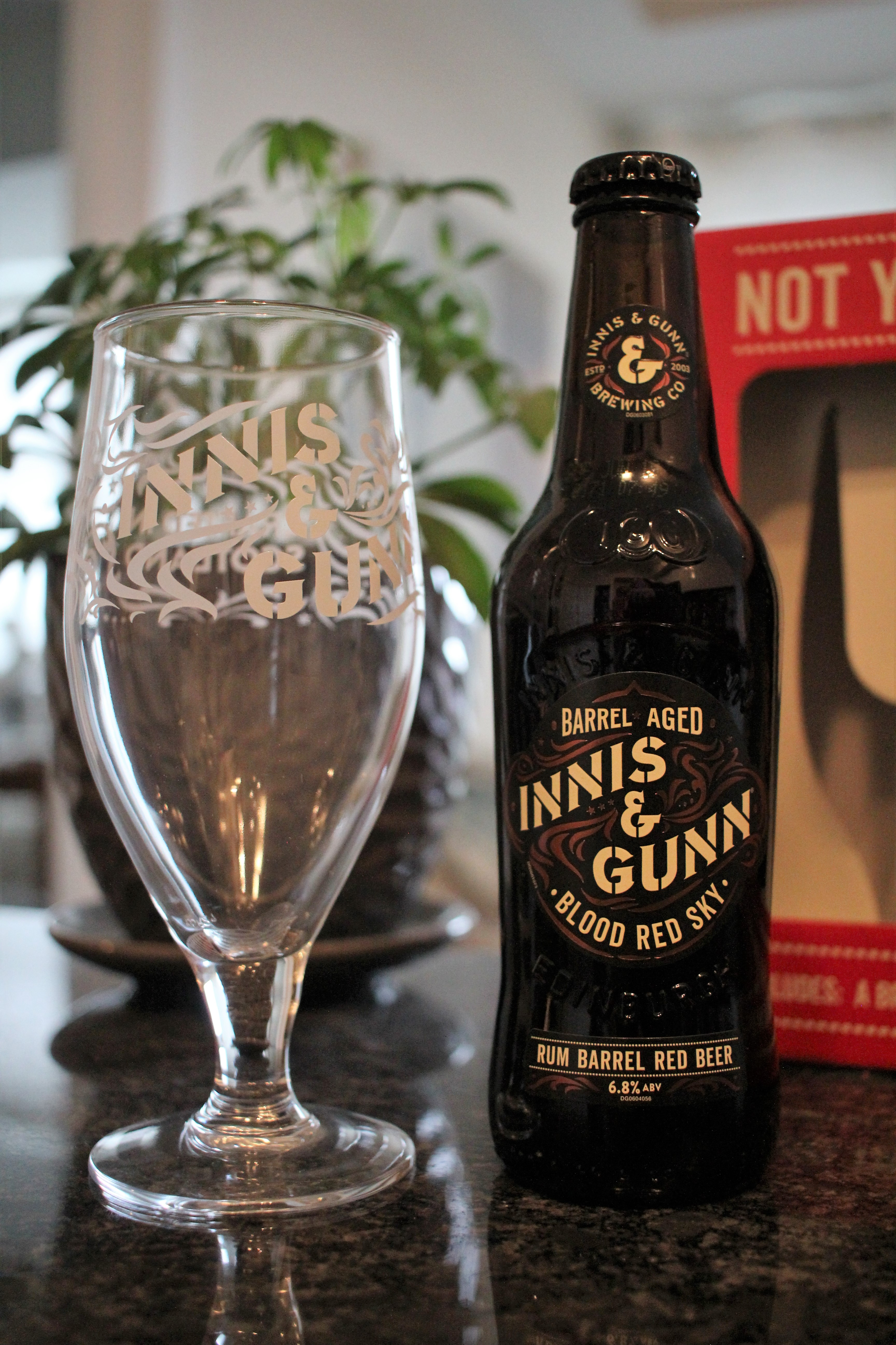 Innis & Gunn Blood Red Sky Red Beer