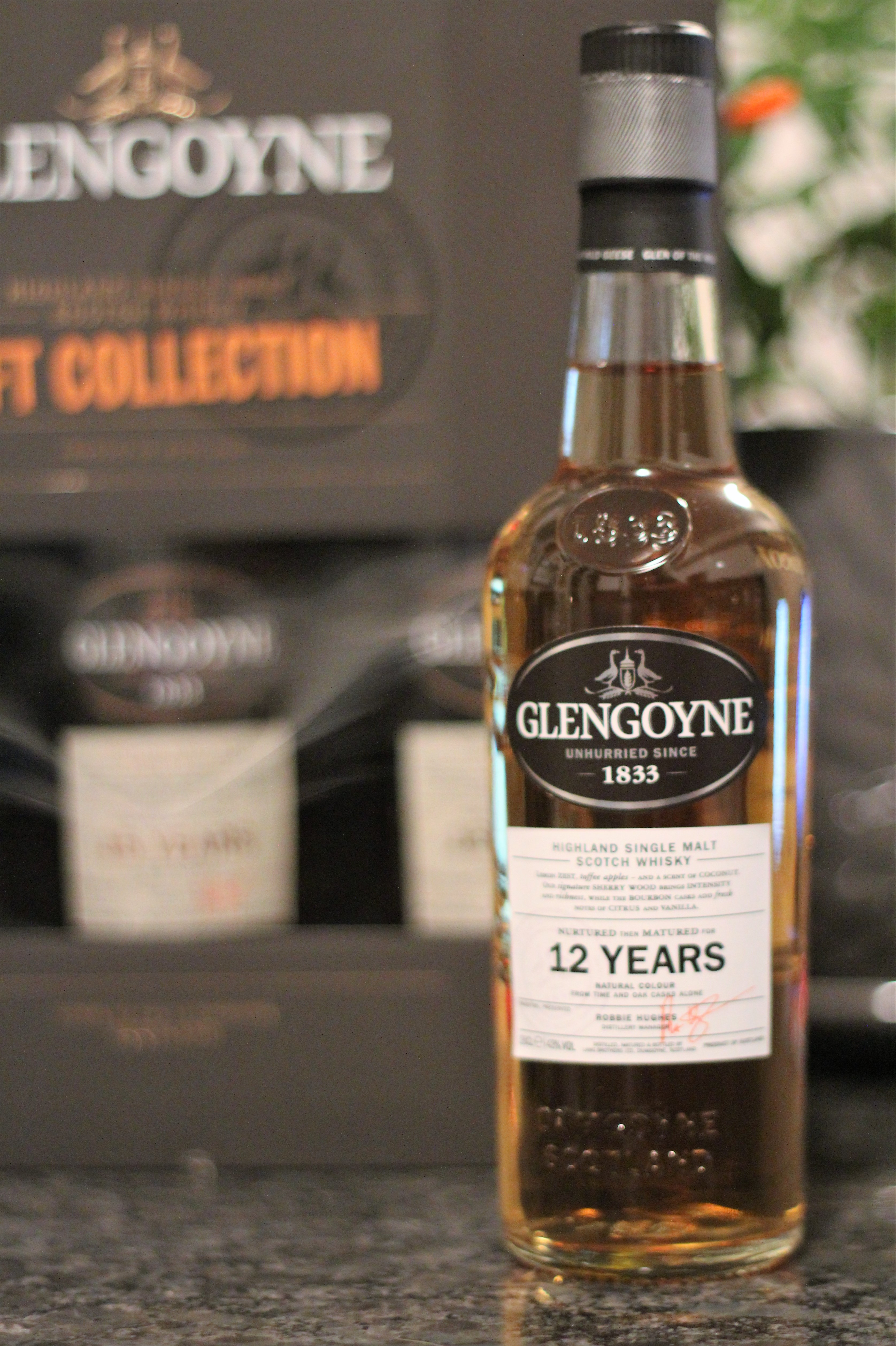 Glengoyne 12y with Dan, Steph & Bowick