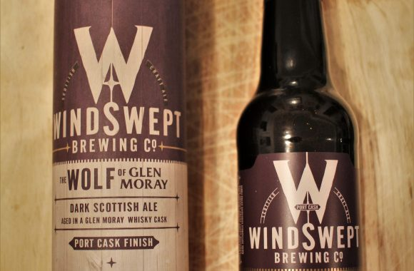 Windswept Brewing Company The Wolf of Glen Moray Port Cask Aged Dark Scottish Ale with Dan