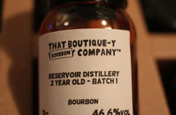 Advent 01: Reservoir Distillery Bourbon 2y Batch 1 with Dan