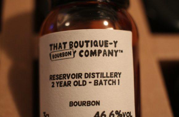 Advent 01: Reservoir Distillery Bourbon 2y Batch 1 with Dan
