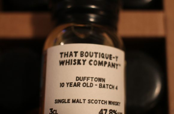 Advent 04: Dufftown 10y Batch 4 with Dan